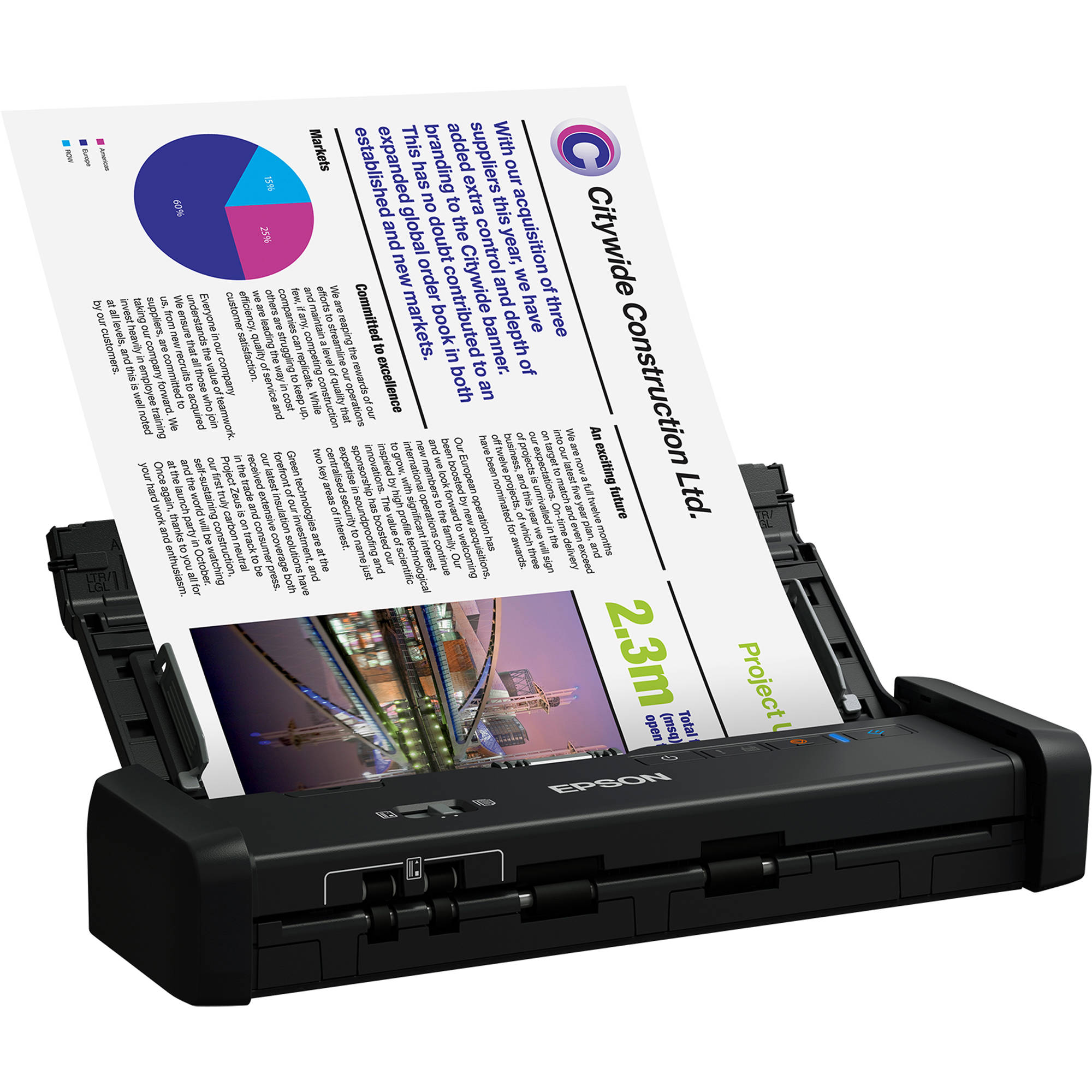 epson workforce es 200 portable duplex document b11b b h