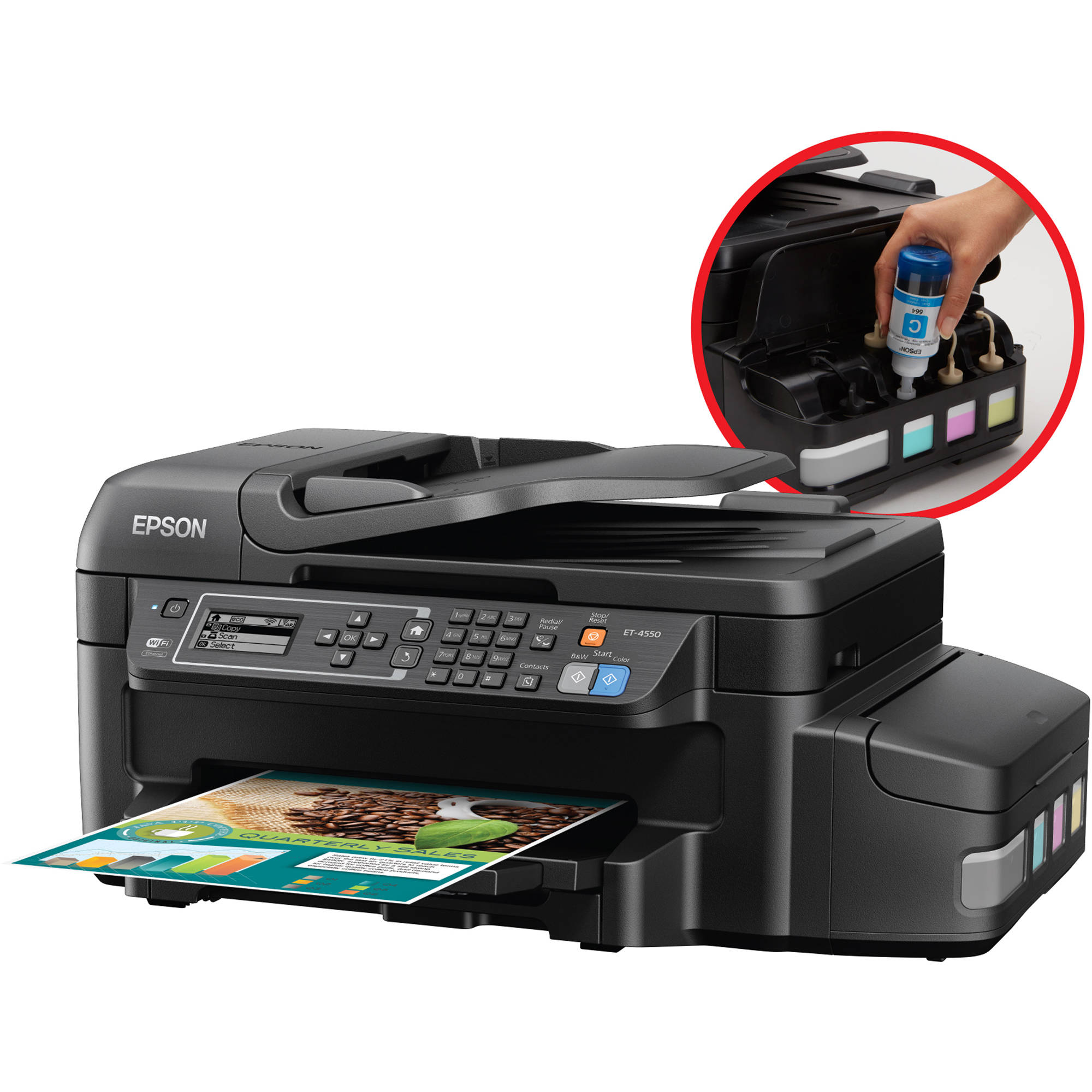 scan and email a pdf with epson printer