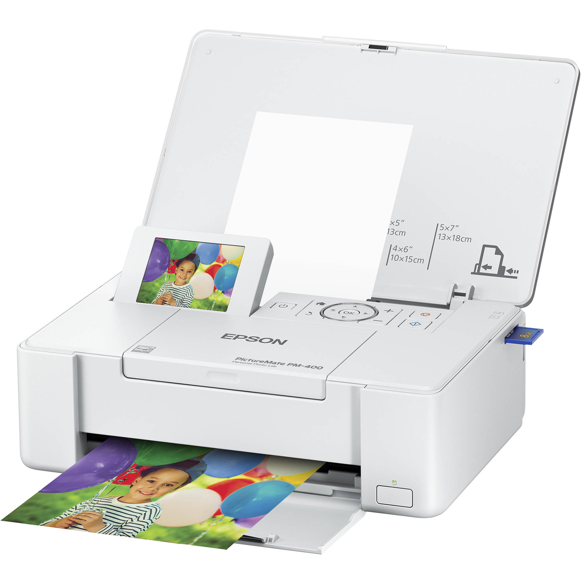 Epson Picturemate Pm 400 Personal Photo Lab C11ce84201 Bh Photo