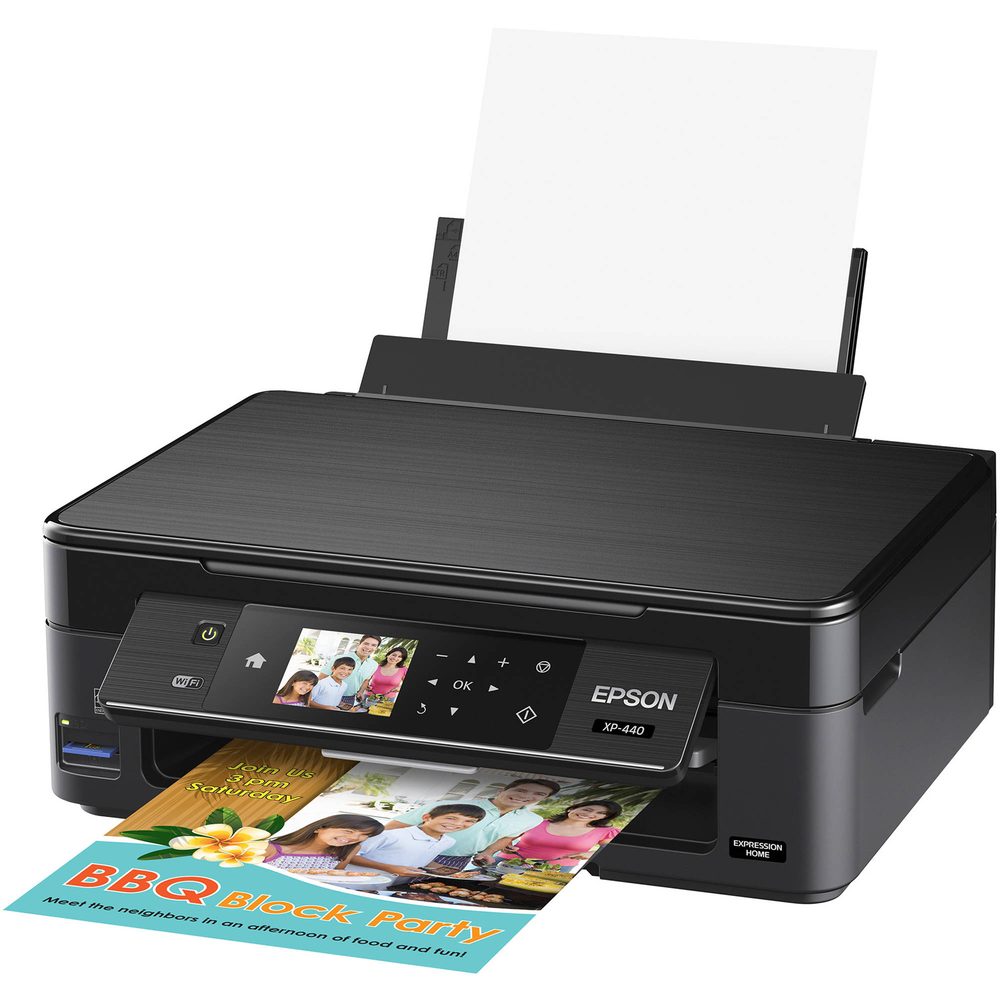 epson expression home xp 440 small in one inkjet c11cf27201 b h
