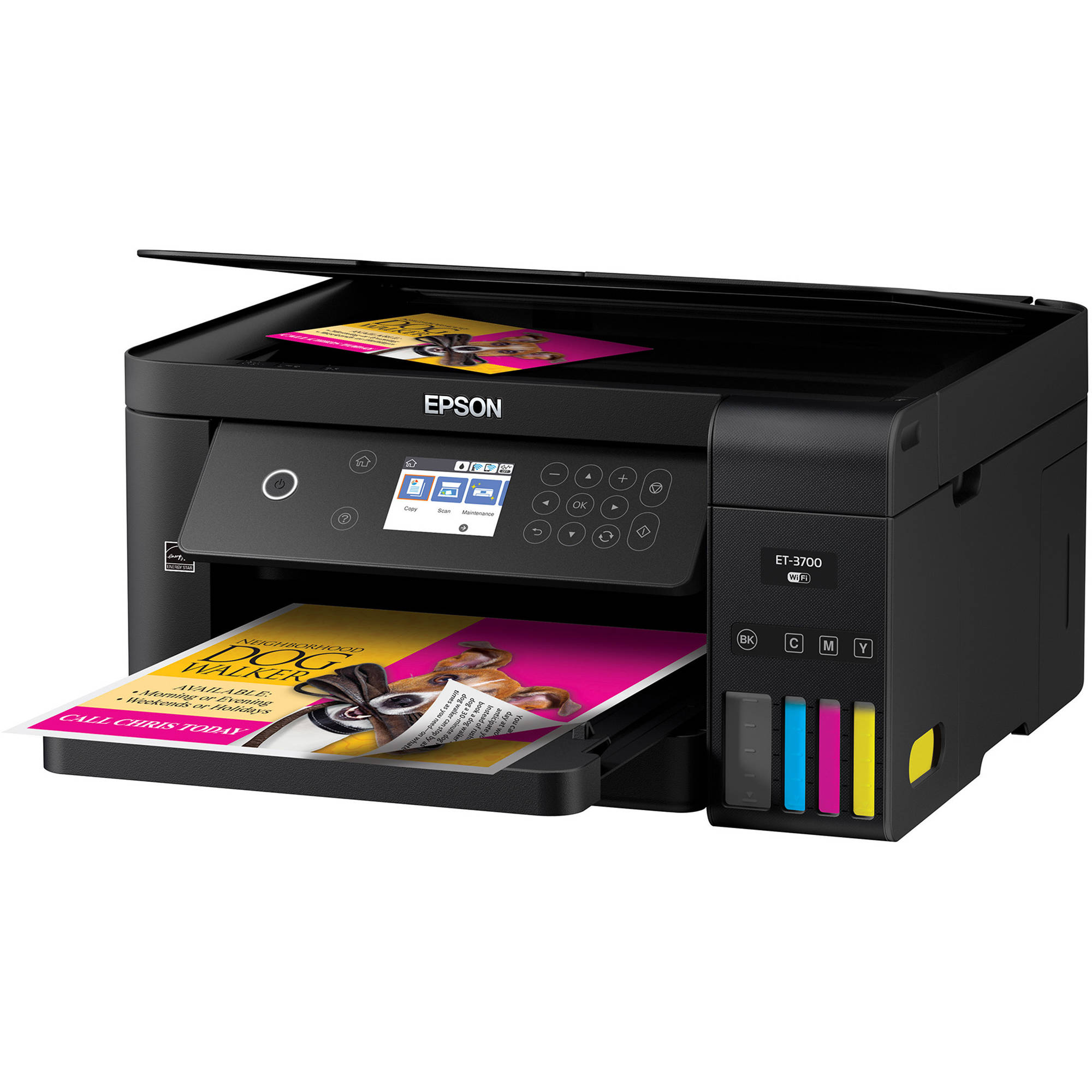 Epson Expression Et 3700 Ecotank All In One Inkjet C11cg21201