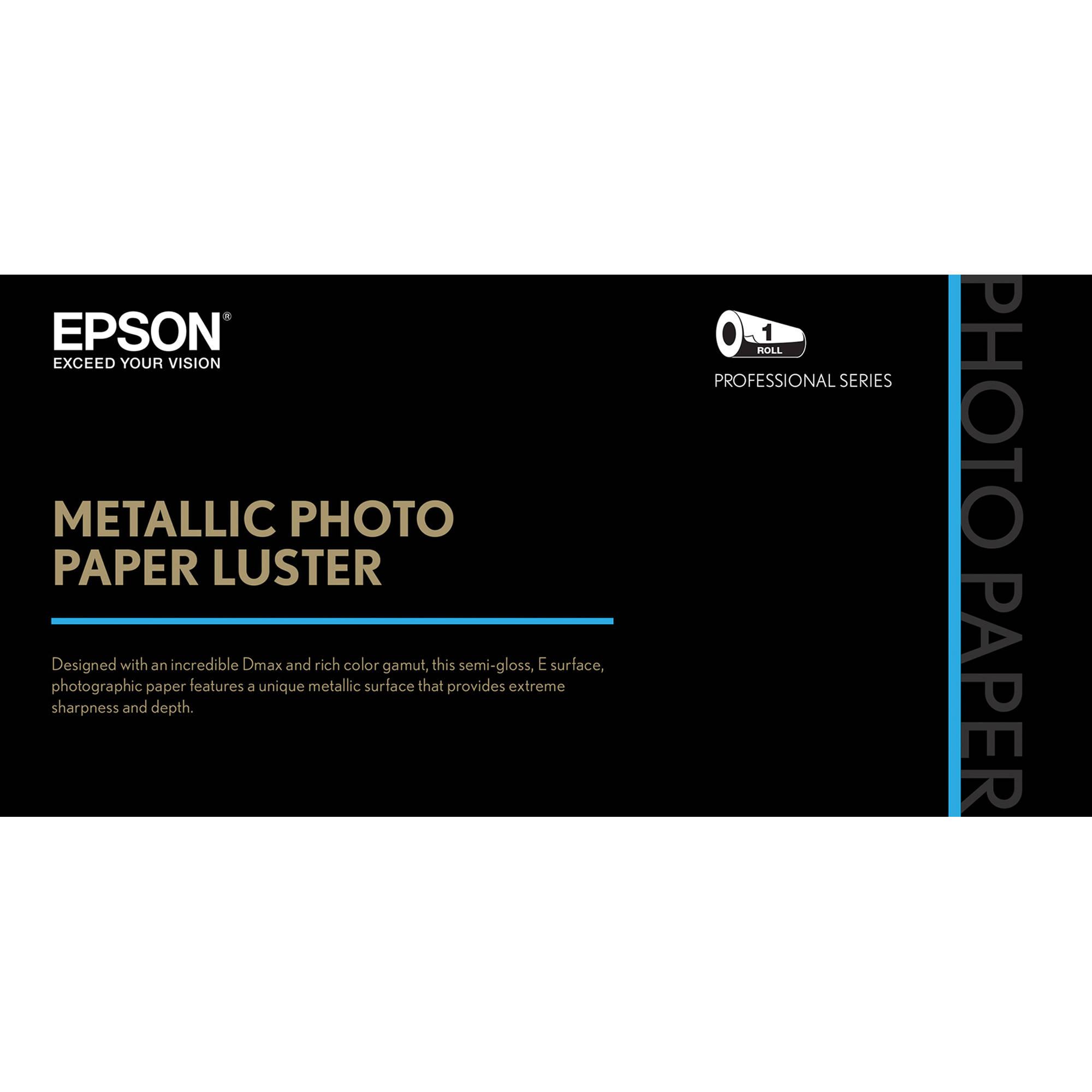epson luster paper Papel ultra premium luster de epson este es uno de nuestros papeles fotográficos de mayor performance ofrece la misma superficie lustre e (piel de naranja) de las.