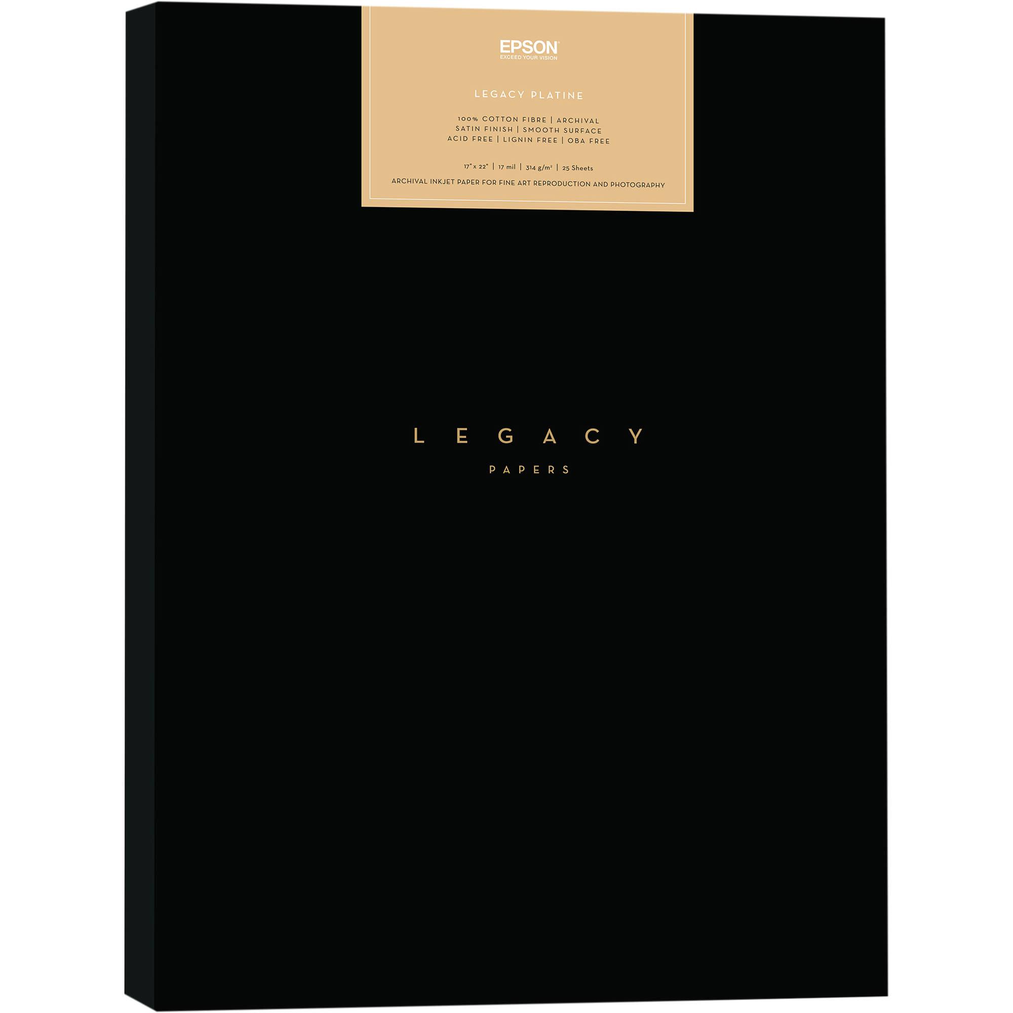 Epson Legacy Platine Paper (17 x 22\