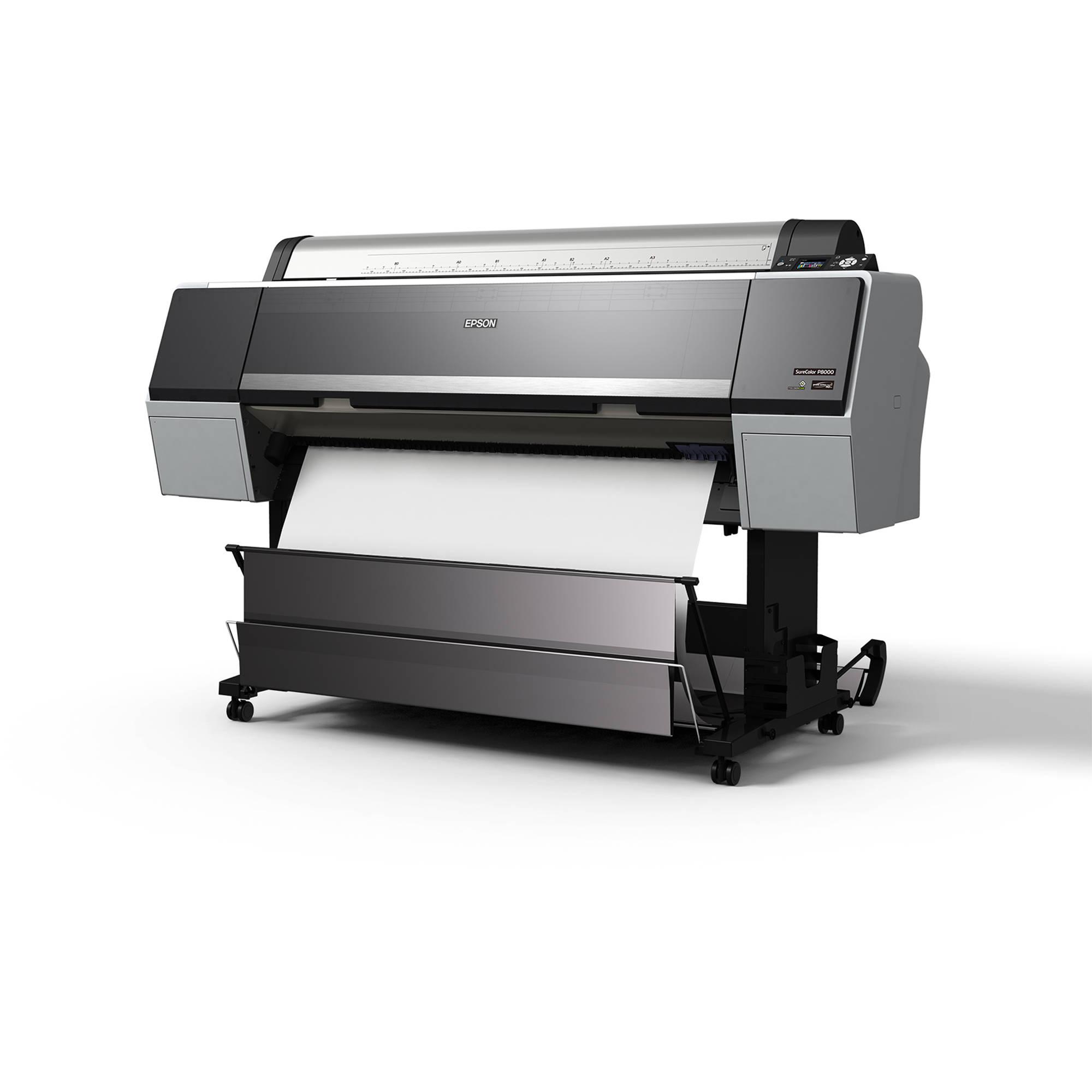 Epson Surecolor P8000 44 Large Format Inkjet Scp8000se B H