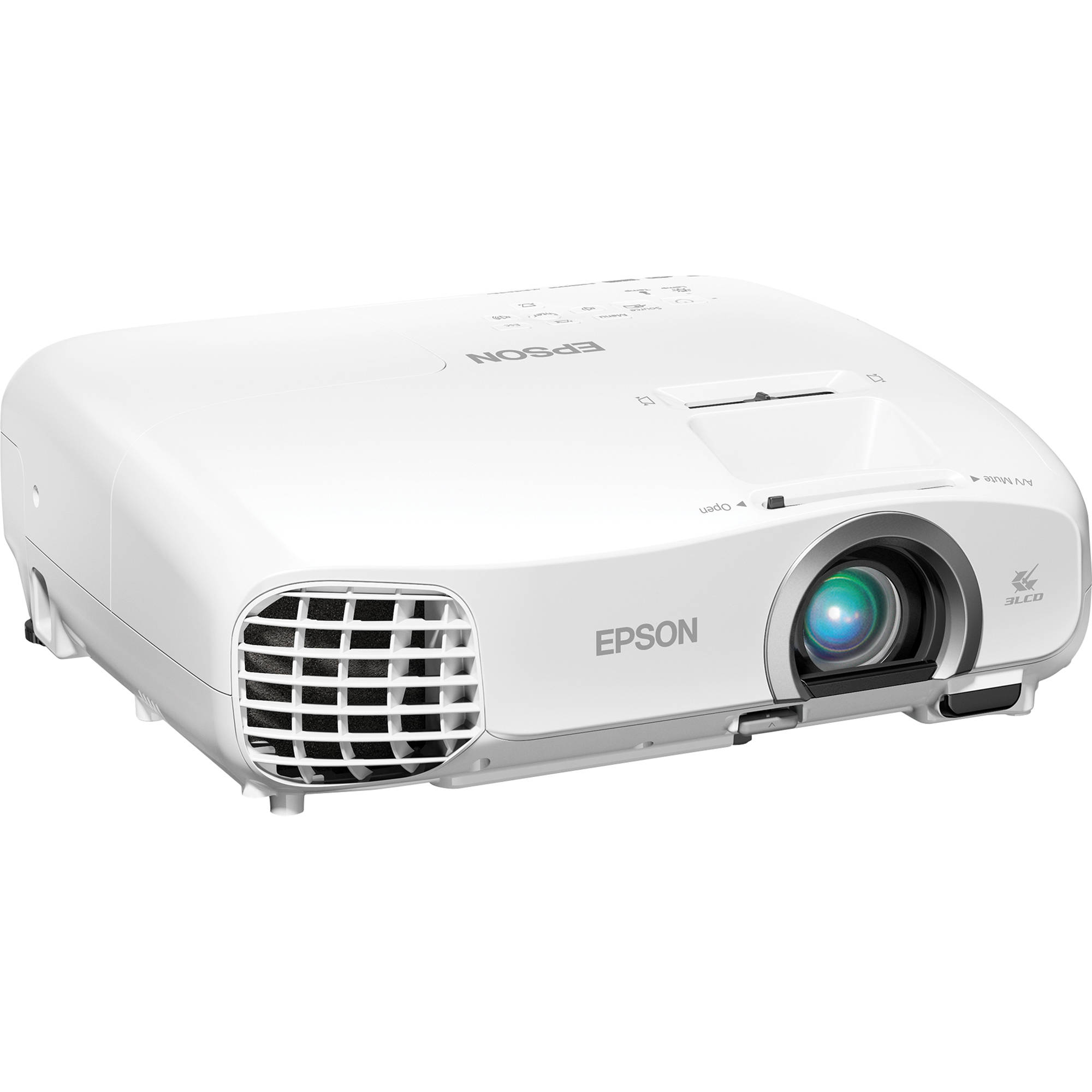 Epson powerlite home cinema 2030 2d 3d 1080p 3lcd for Best small hd projector