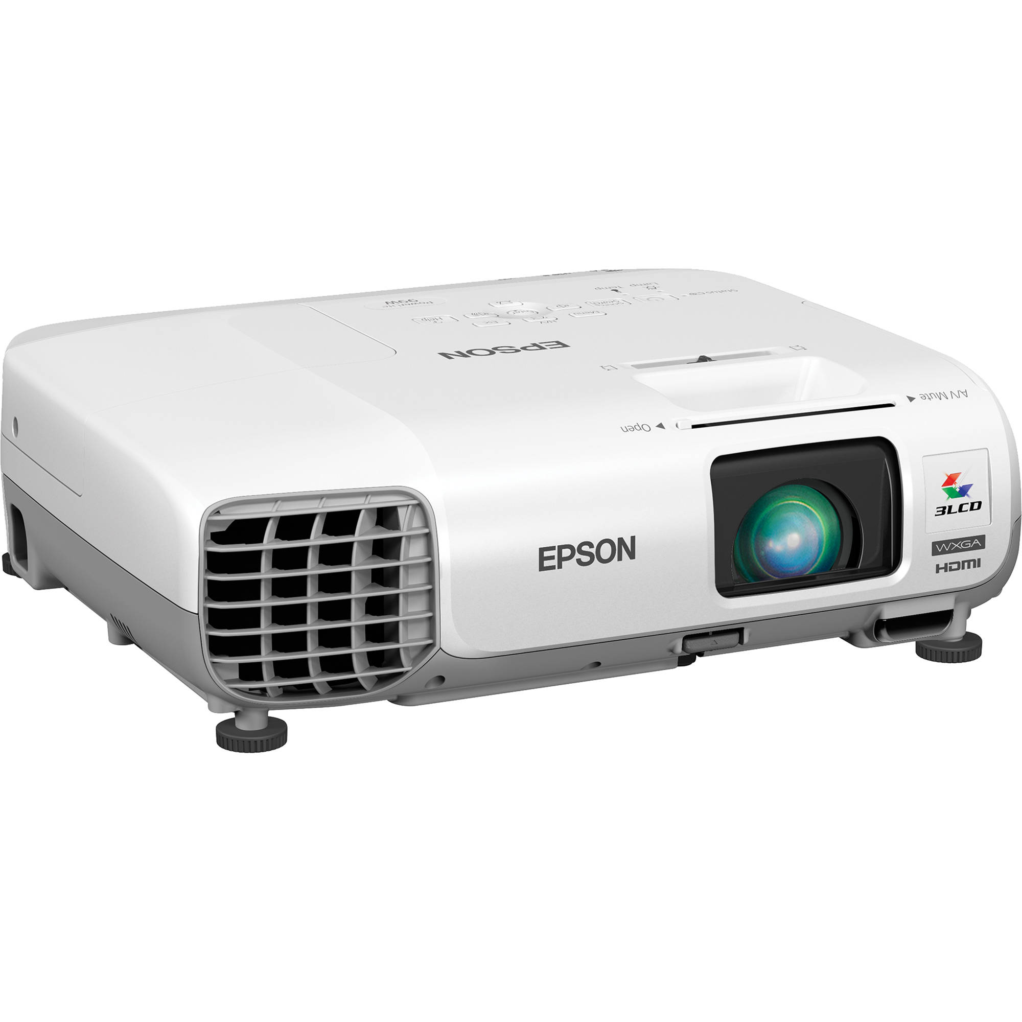 Epson PowerLite 99W WXGA 3LCD Projector
