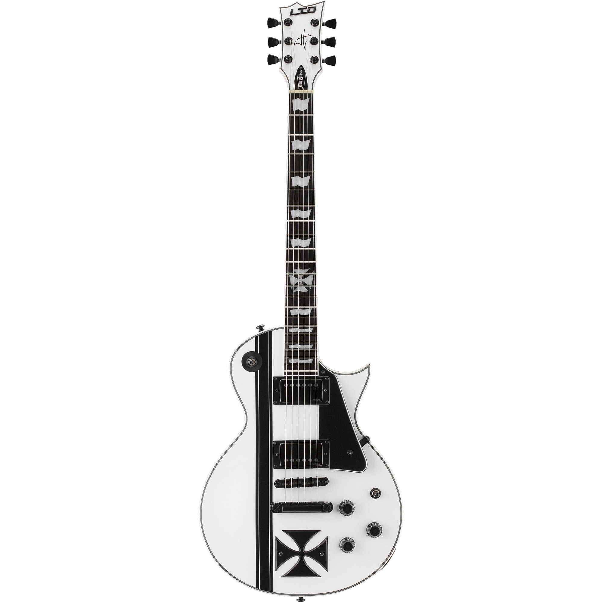esp ltd iron cross james hetfield signature series lironcrosssw. Black Bedroom Furniture Sets. Home Design Ideas