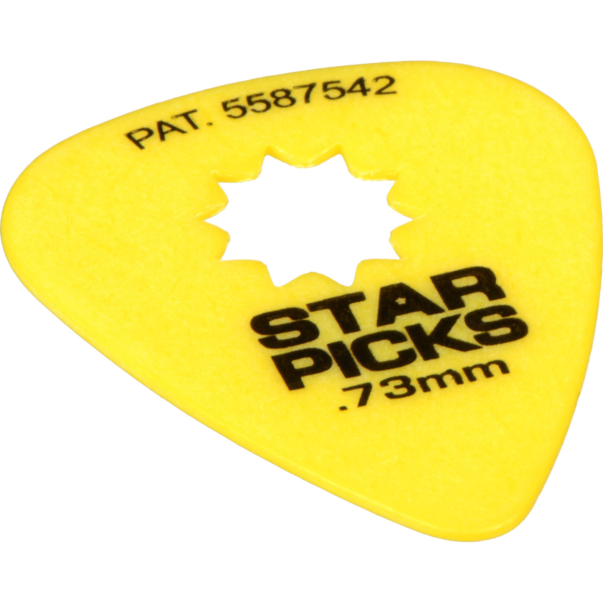 everly star pick 12 pack of guitar picks 73mm yellow 30023. Black Bedroom Furniture Sets. Home Design Ideas