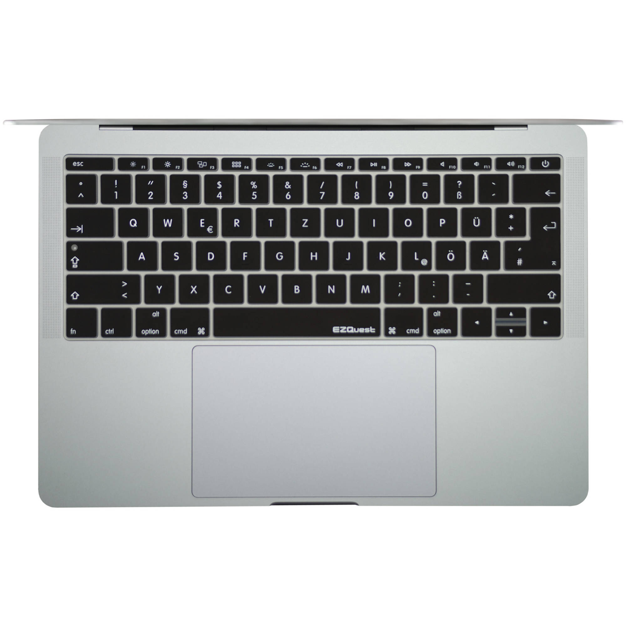 ezquest german keyboard cover for the 13 3 x21116 b h. Black Bedroom Furniture Sets. Home Design Ideas