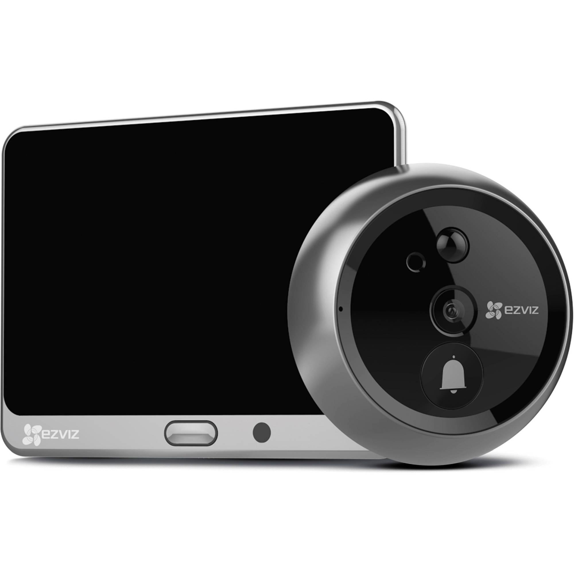 ezviz dp1  ezviz DP1 Wi-Fi Smart Door Viewer Video Intercom EZ3364A1SM B&H