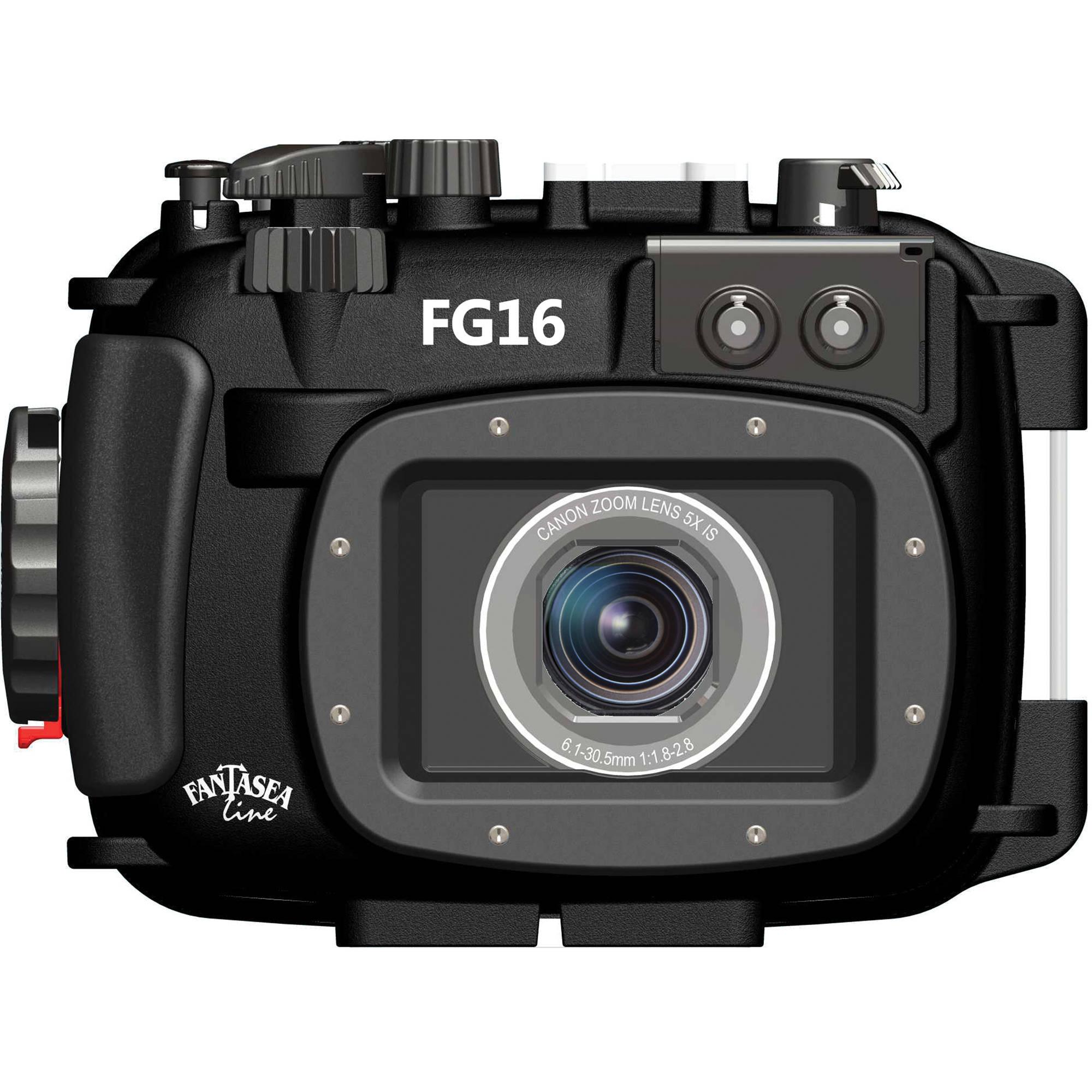 Line fg16 underwater housing for canon powershot g16 digital camera