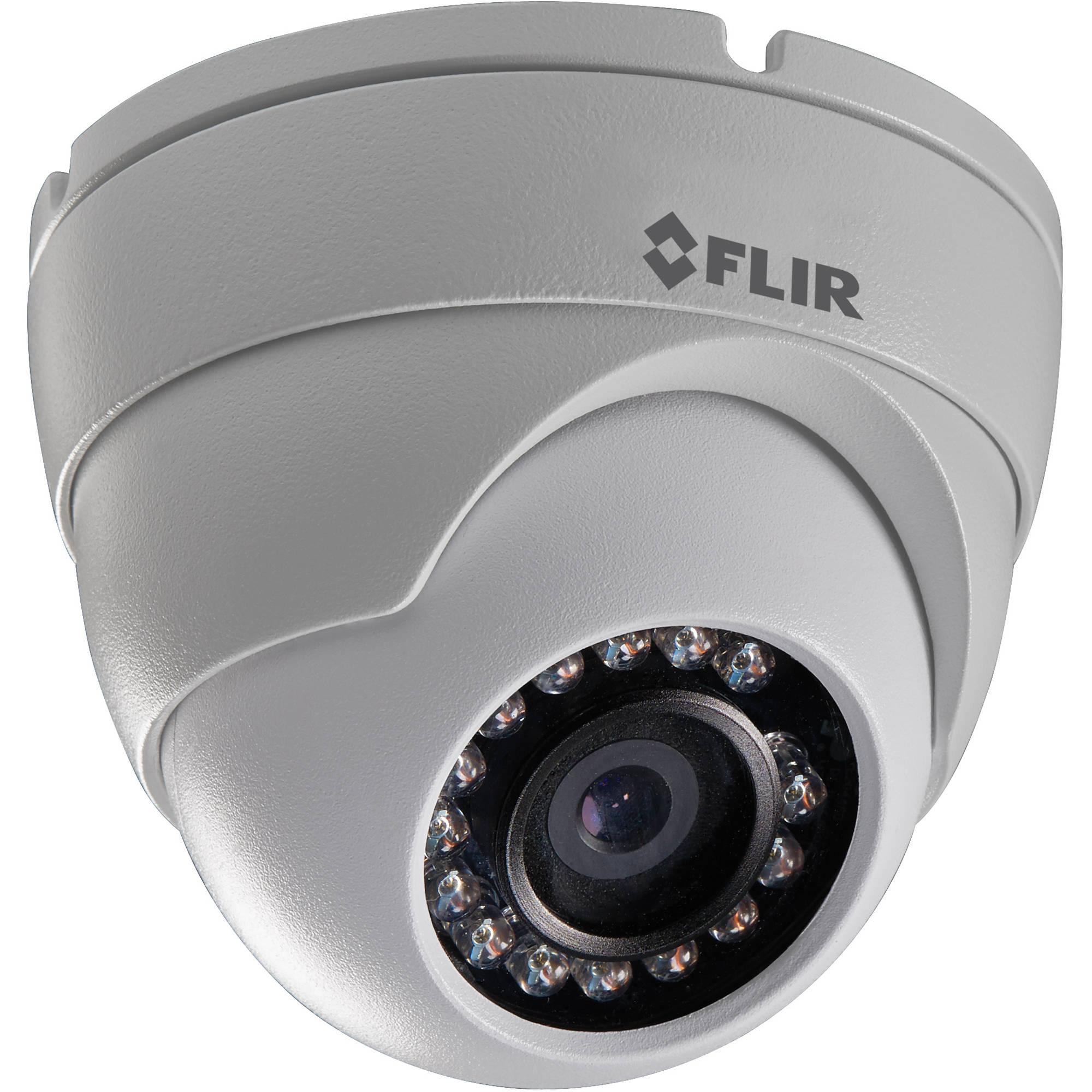 FLIR 2.1MP Outdoor Dome Camera N133ED B&H Photo Video