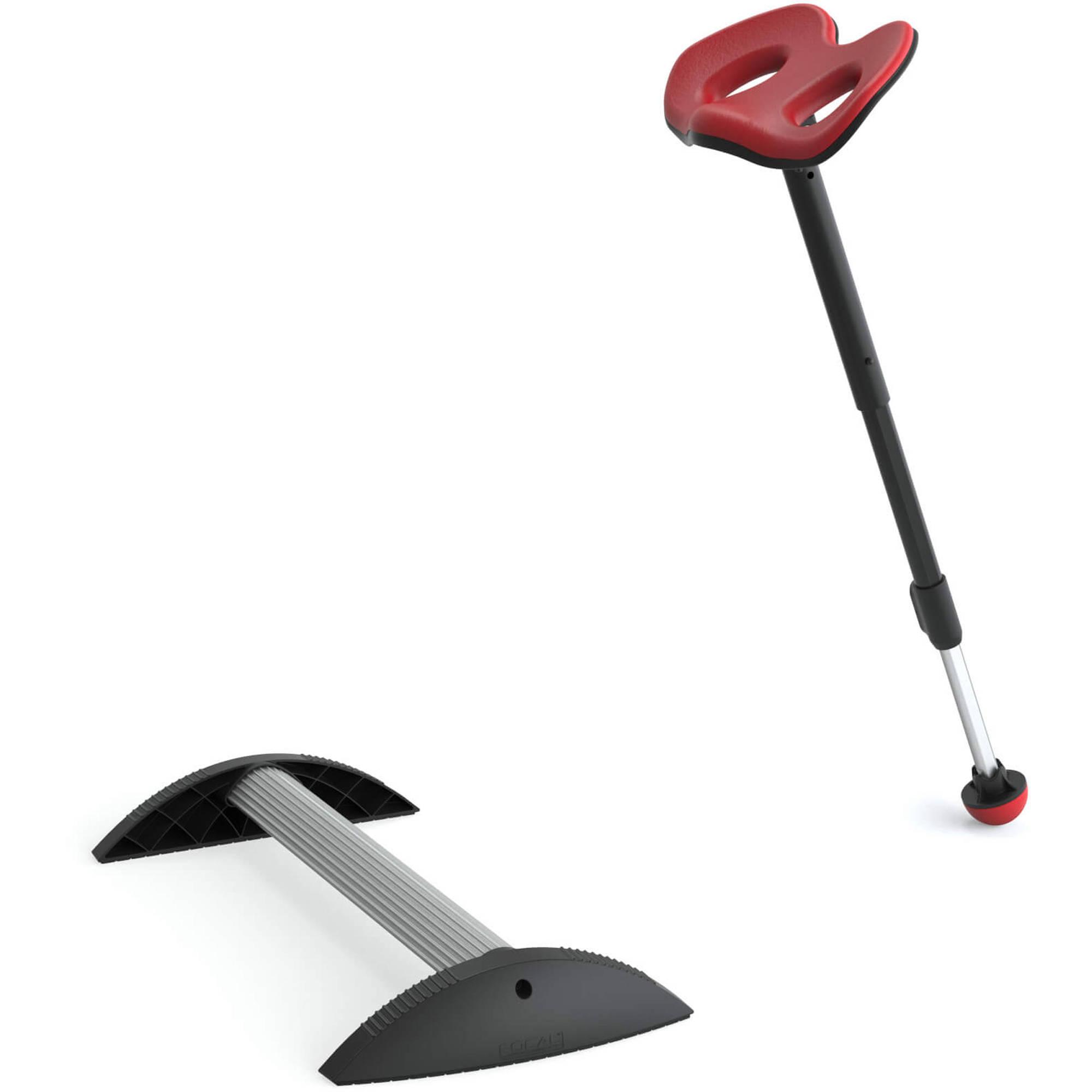 Focal Upright Furniture Mogo Upright Seat U0026 Stabilizing Foot Rest Kit  (Chili Pepper Red Cushion