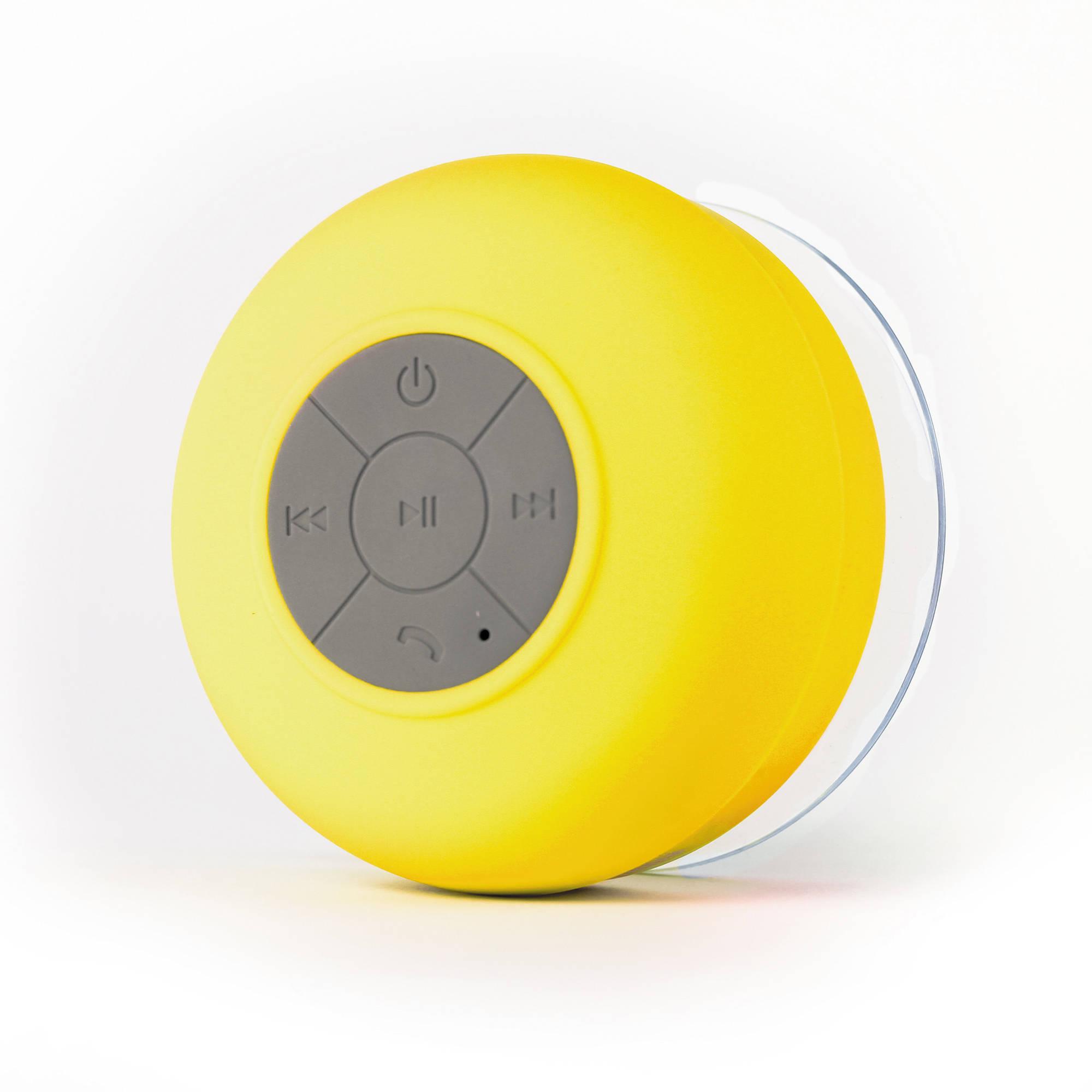 Etonnant FRESHeTECH Splash Shower Tunes Bluetooth Waterproof Shower Speaker (Yellow)