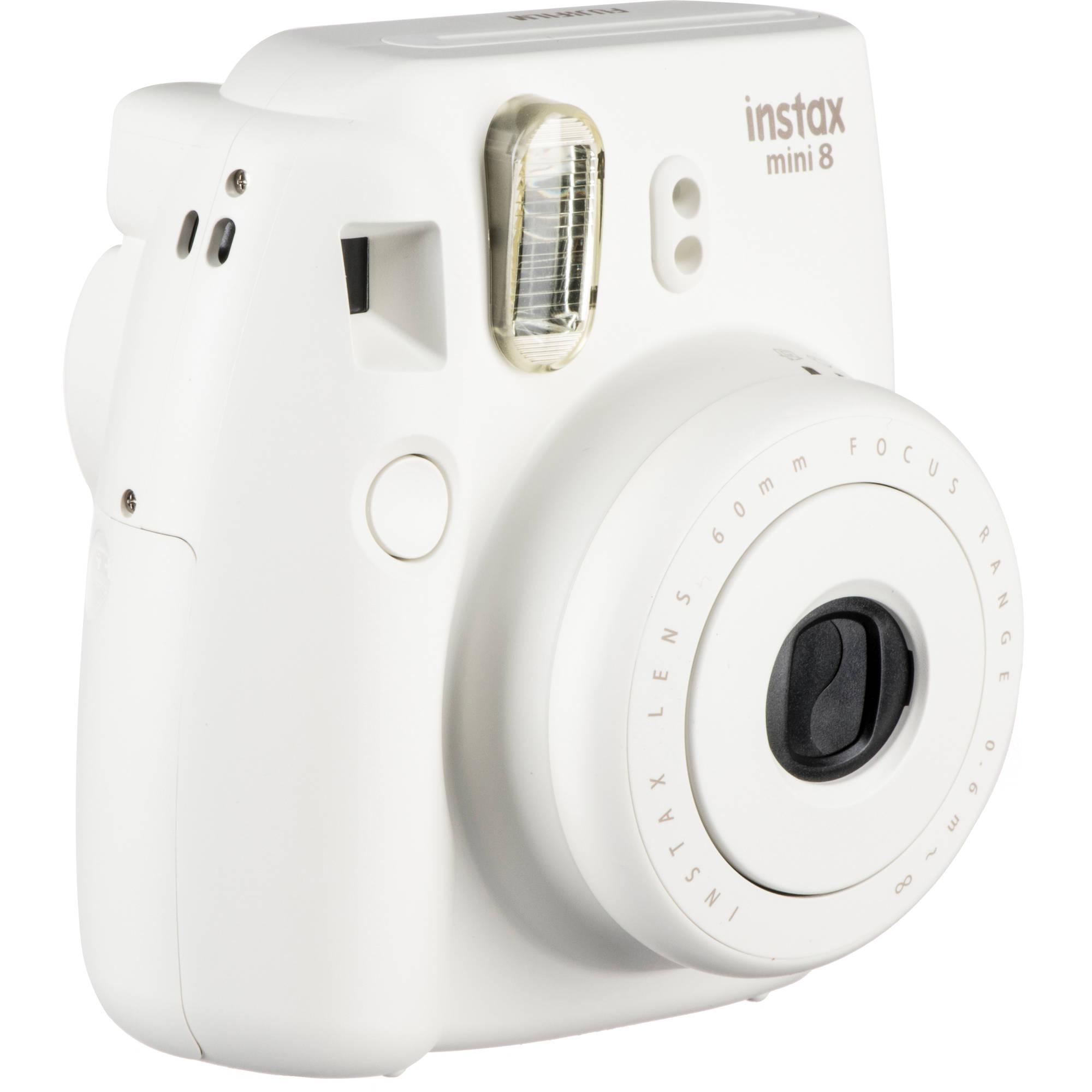 Fujifilm instax mini 8 instant film camera white for Instax mini 8 housse