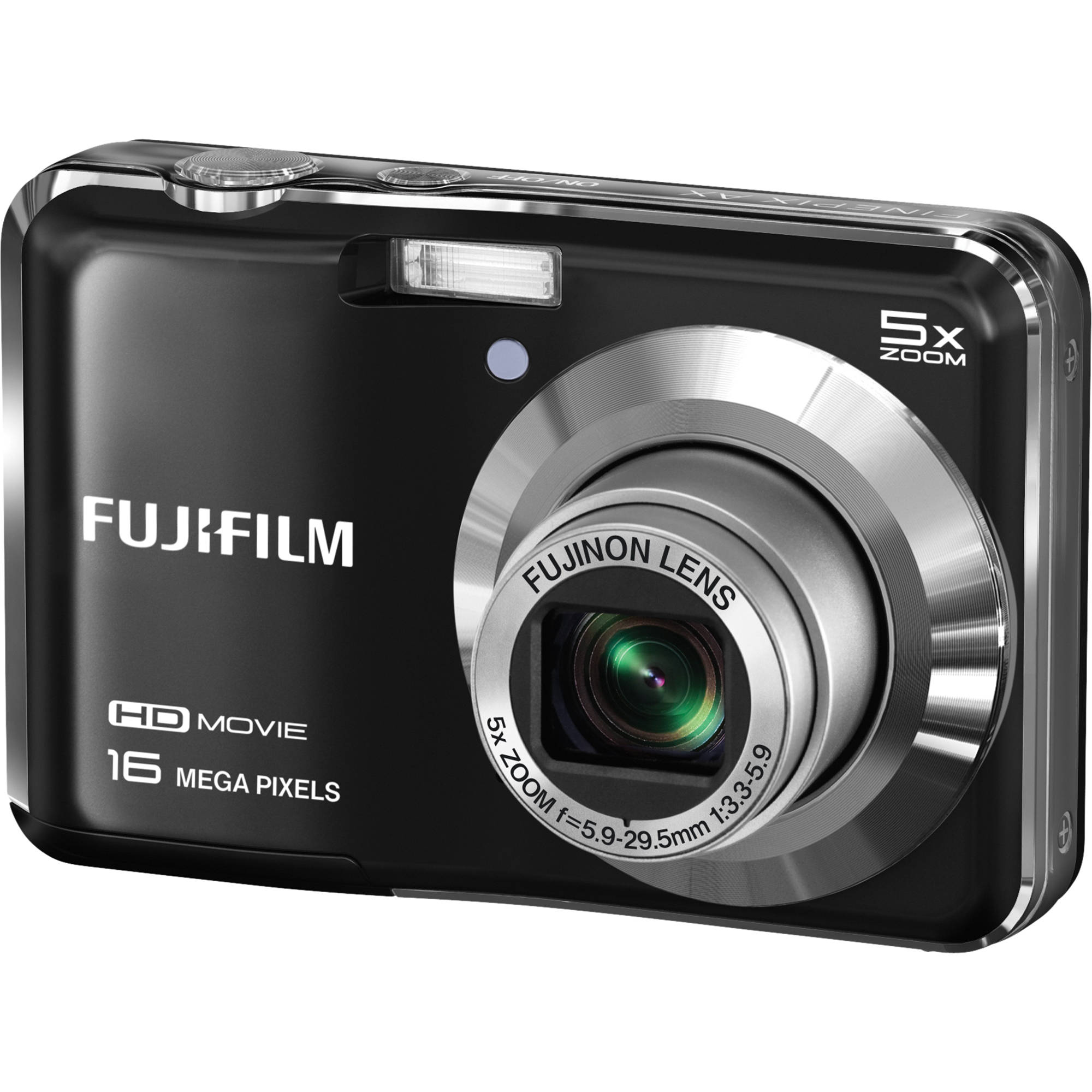 Fuji Digital Cameras: FUJIFILM FinePix AX650 Digital Camera (Black) 16277992 B&H