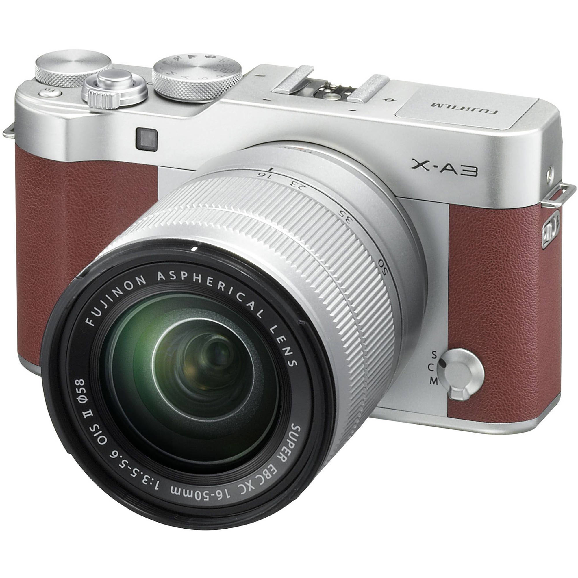 Fujifilm X-A3 Mirrorless Digital Camera with 16-50mm 16531647