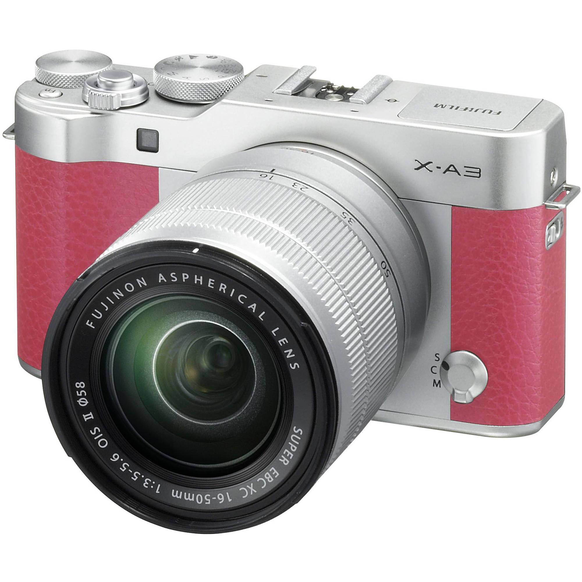 Fujifilm X-A3 Mirrorless Digital Camera with 16-50mm 16531659