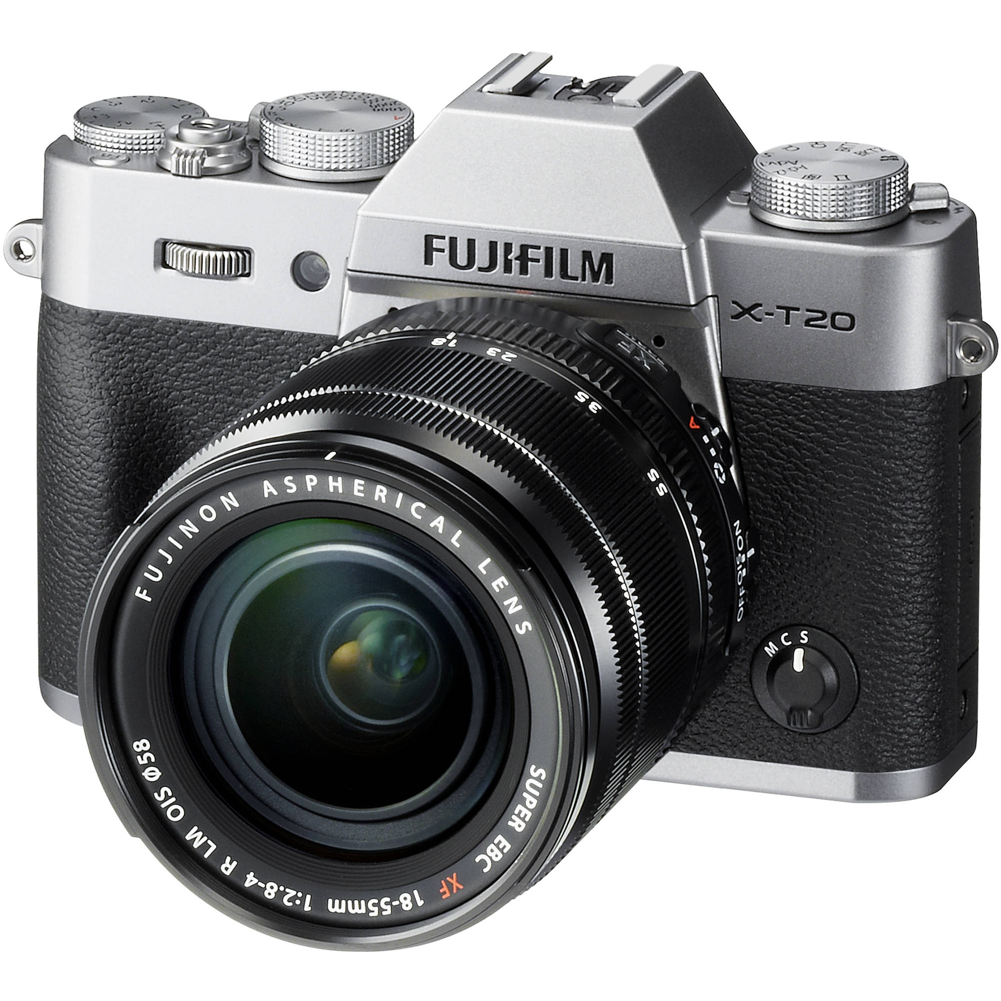 Fujifilm X-T20 Mirrorless Digital Camera with 18-55mm 16542622
