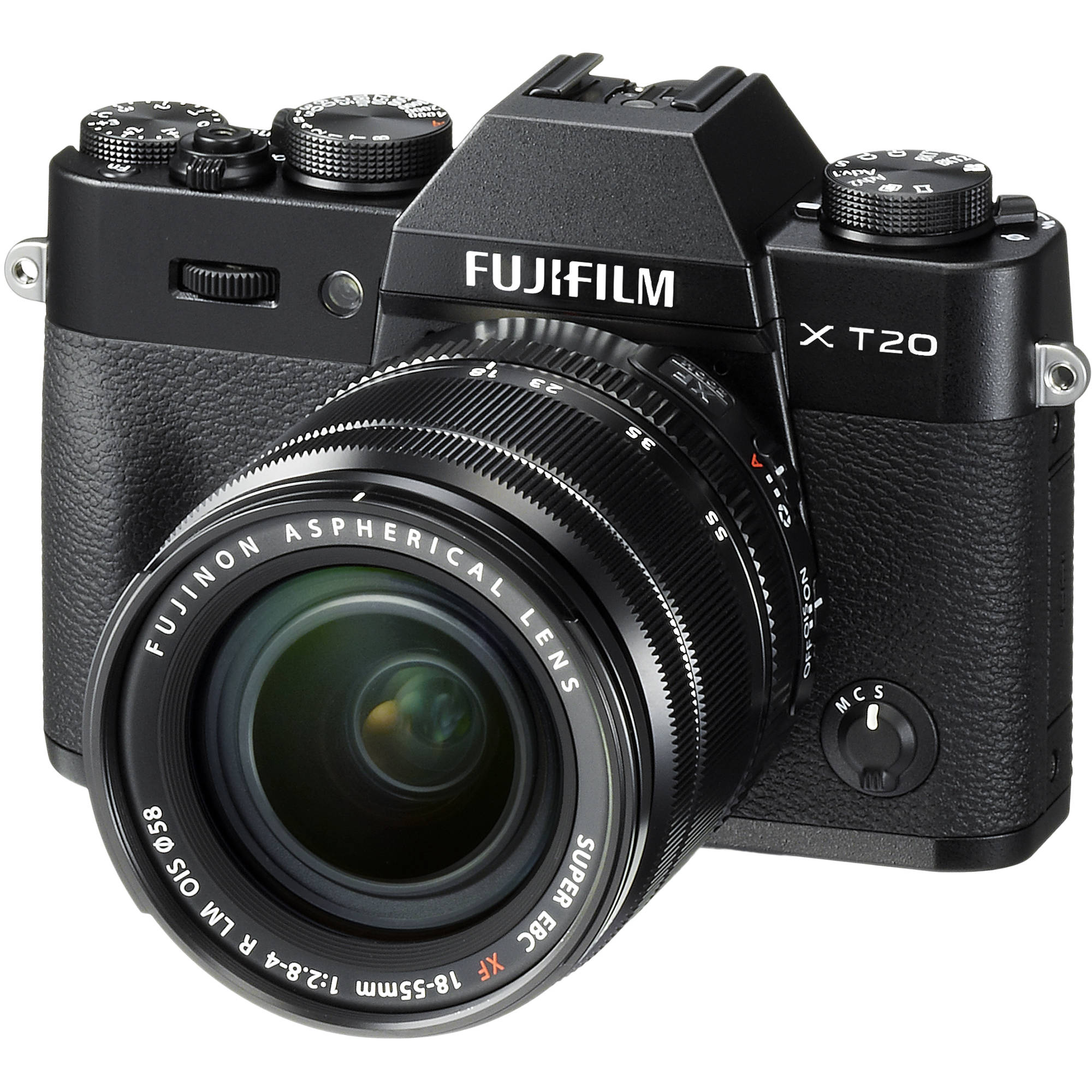 Fujifilm X-T20 Mirrorless Digital Camera with 18-55mm 16542751