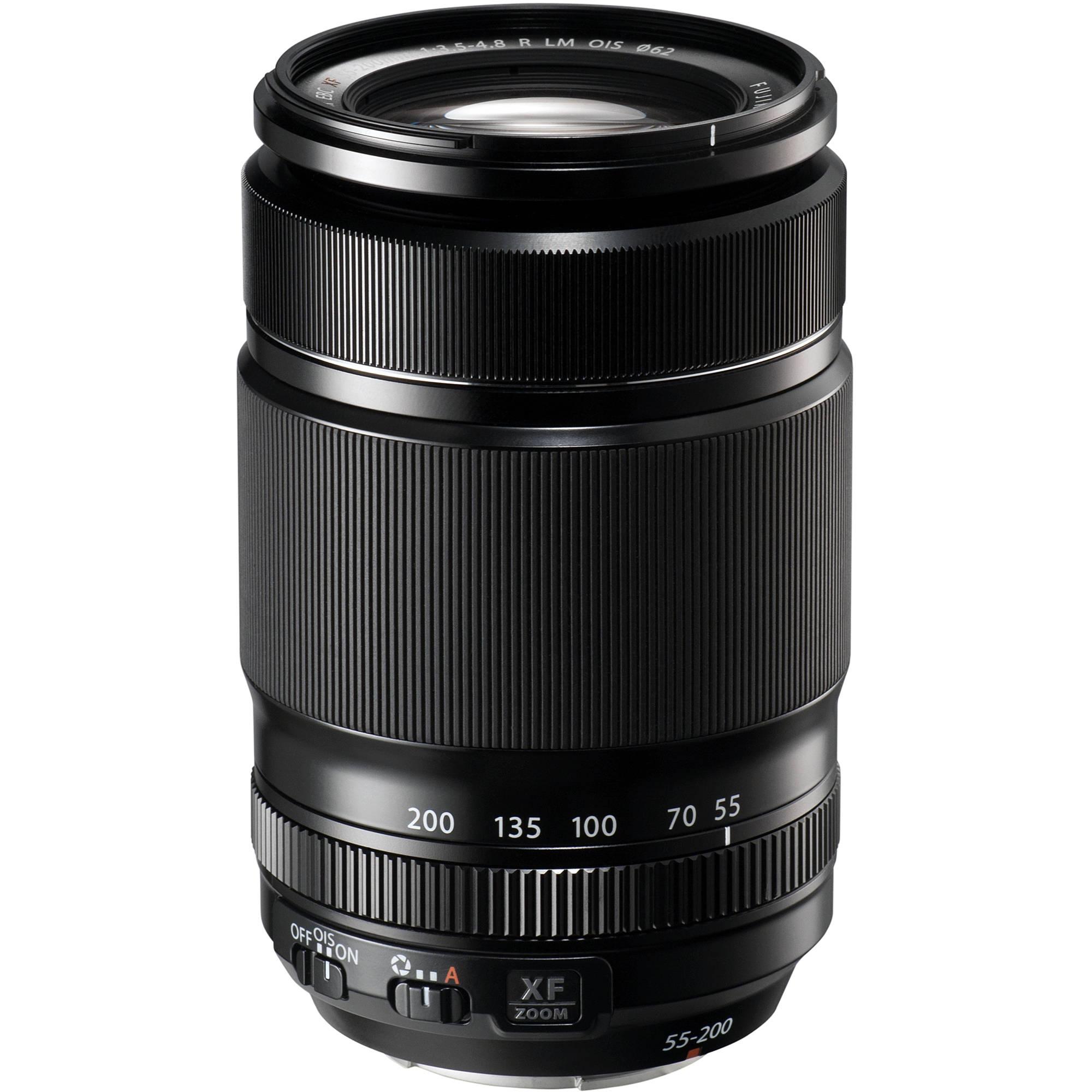 Fujifilm X Series Lenses Bh Photo Video Fujinon Xf 100 400mm F 45 56 R Lm Ois Wr 55 200mm 35 48 Lens
