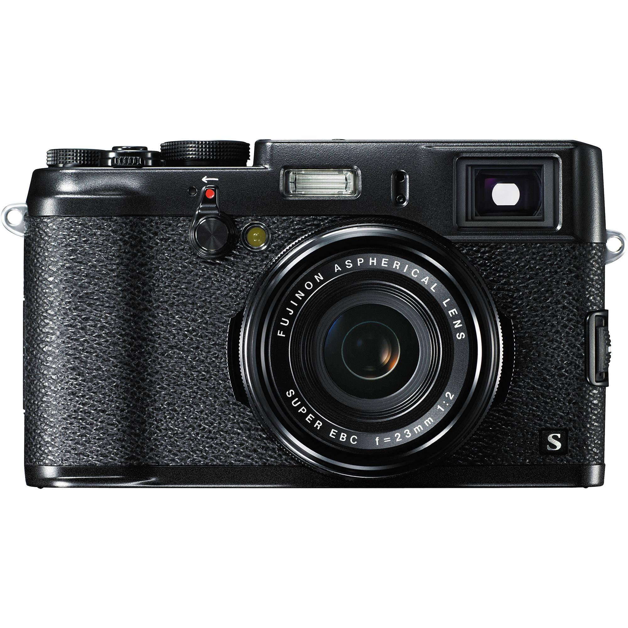 Fuji Digital Cameras: FUJIFILM X100S Digital Camera (Black) 16416445 B&H Photo Video