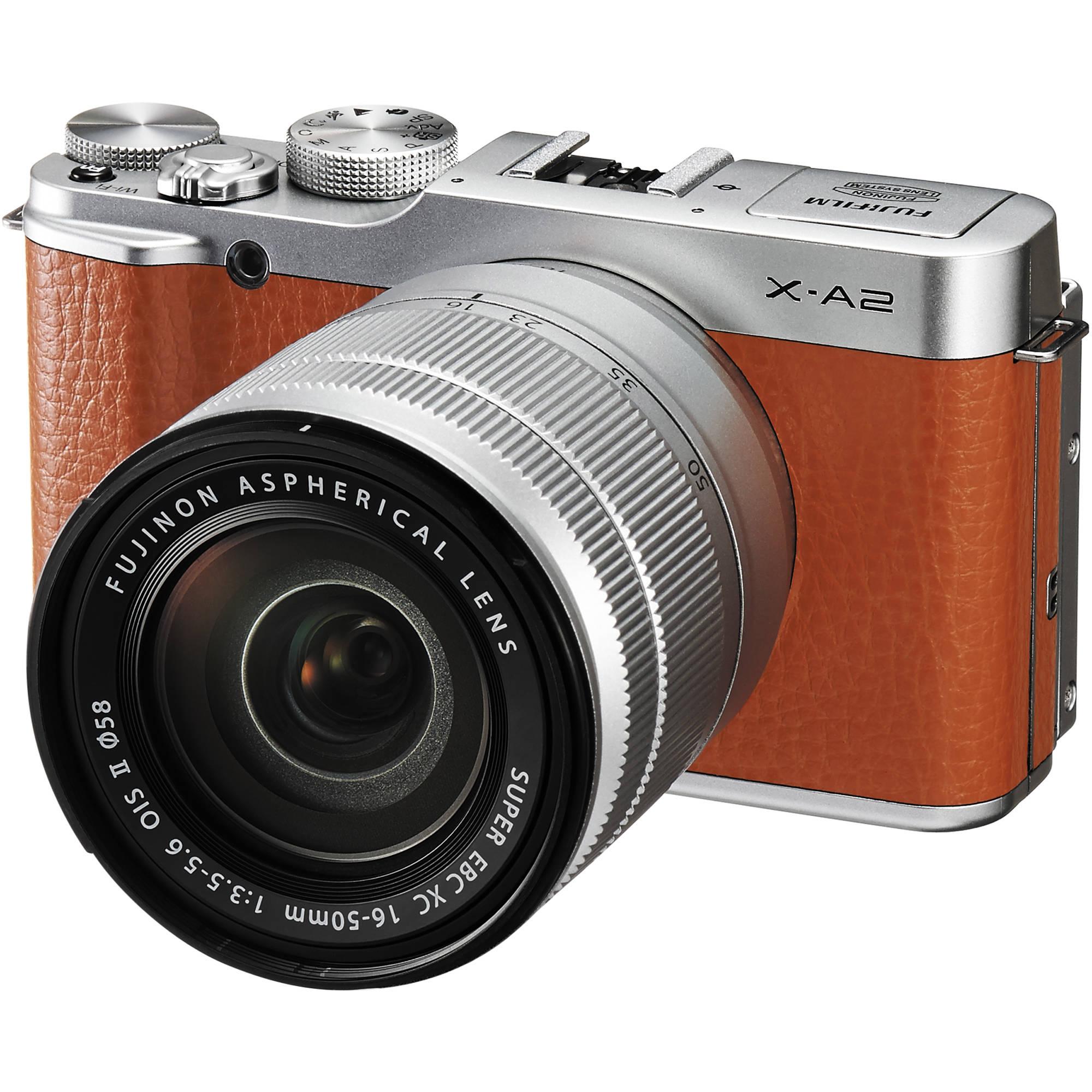 Fuji Digital Cameras: FUJIFILM X-A2 Mirrorless Digital Camera With 16-50mm 16455130