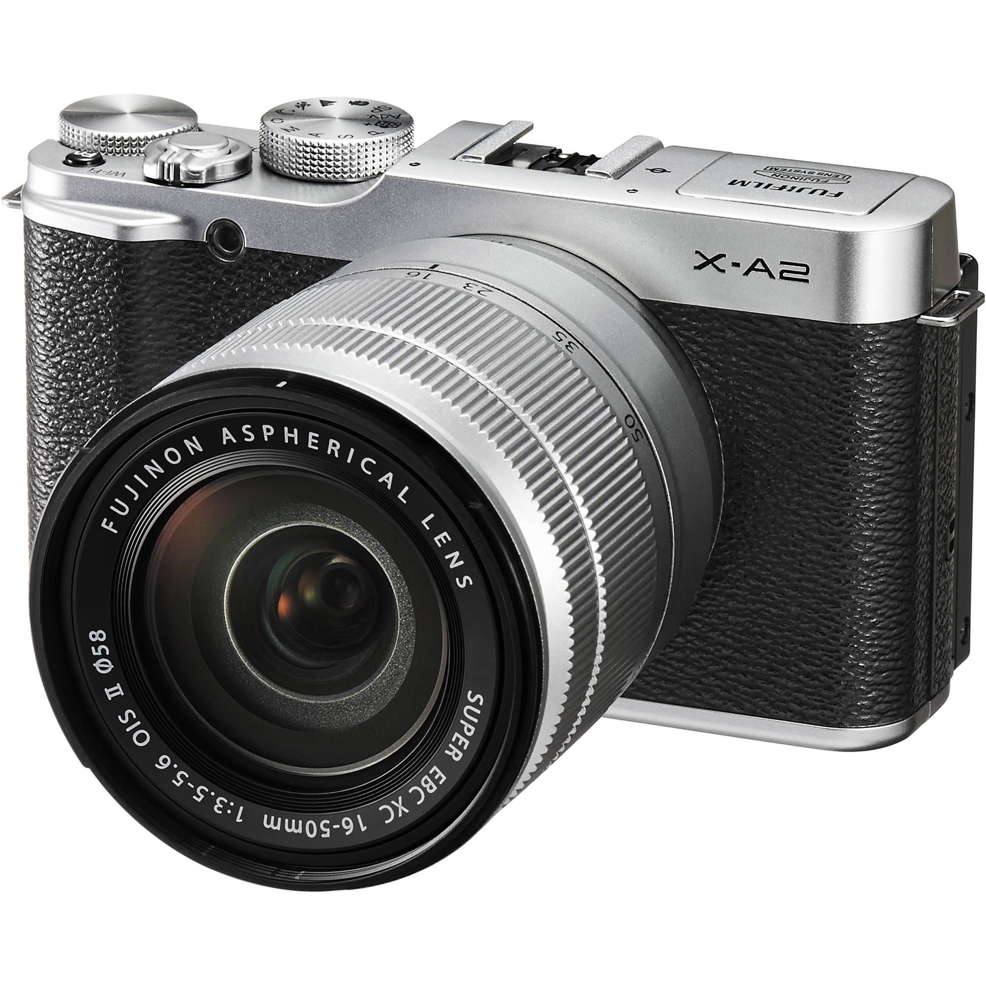 Fujifilm X A2 Mirrorless Digital Camera With 16 50mm Lens Silver
