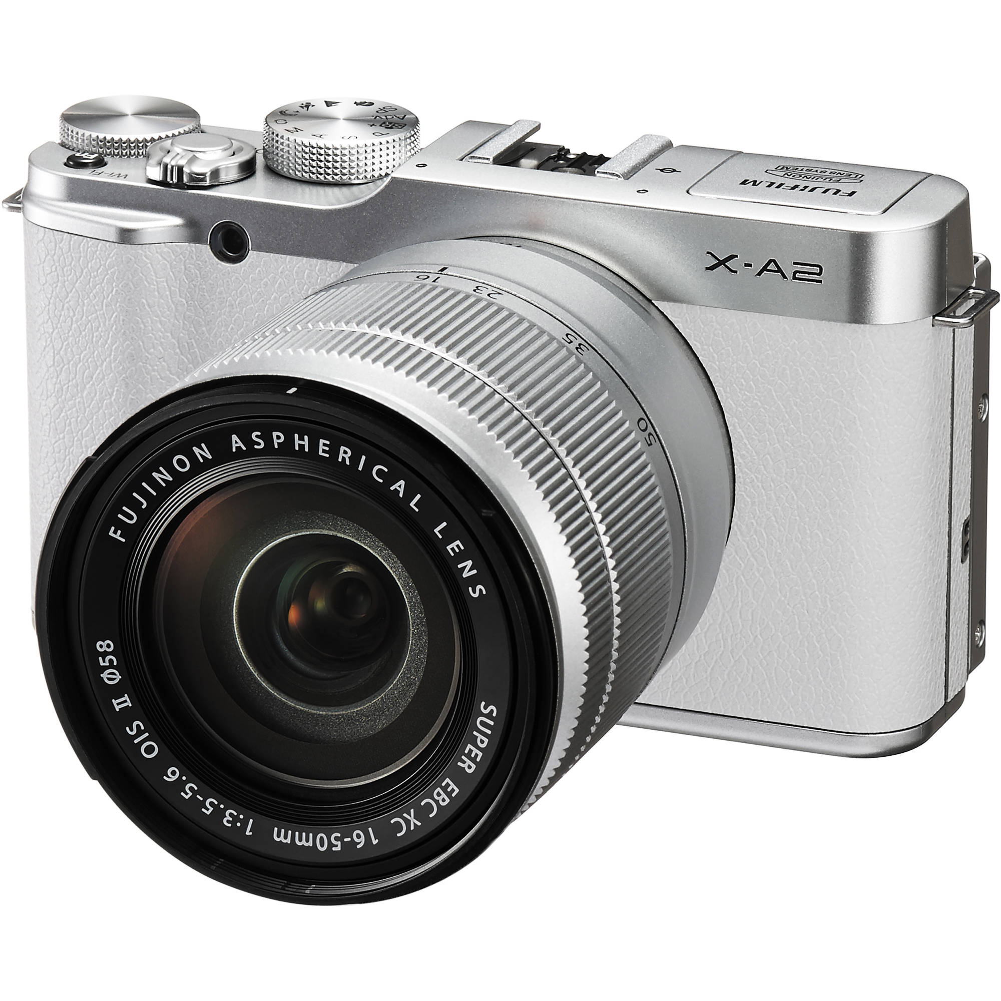 Fujifilm X A2 Mirrorless Digital Camera With 16 50mm 16455128 And Screen On Disposable Flash Circuit Schematic Lens White