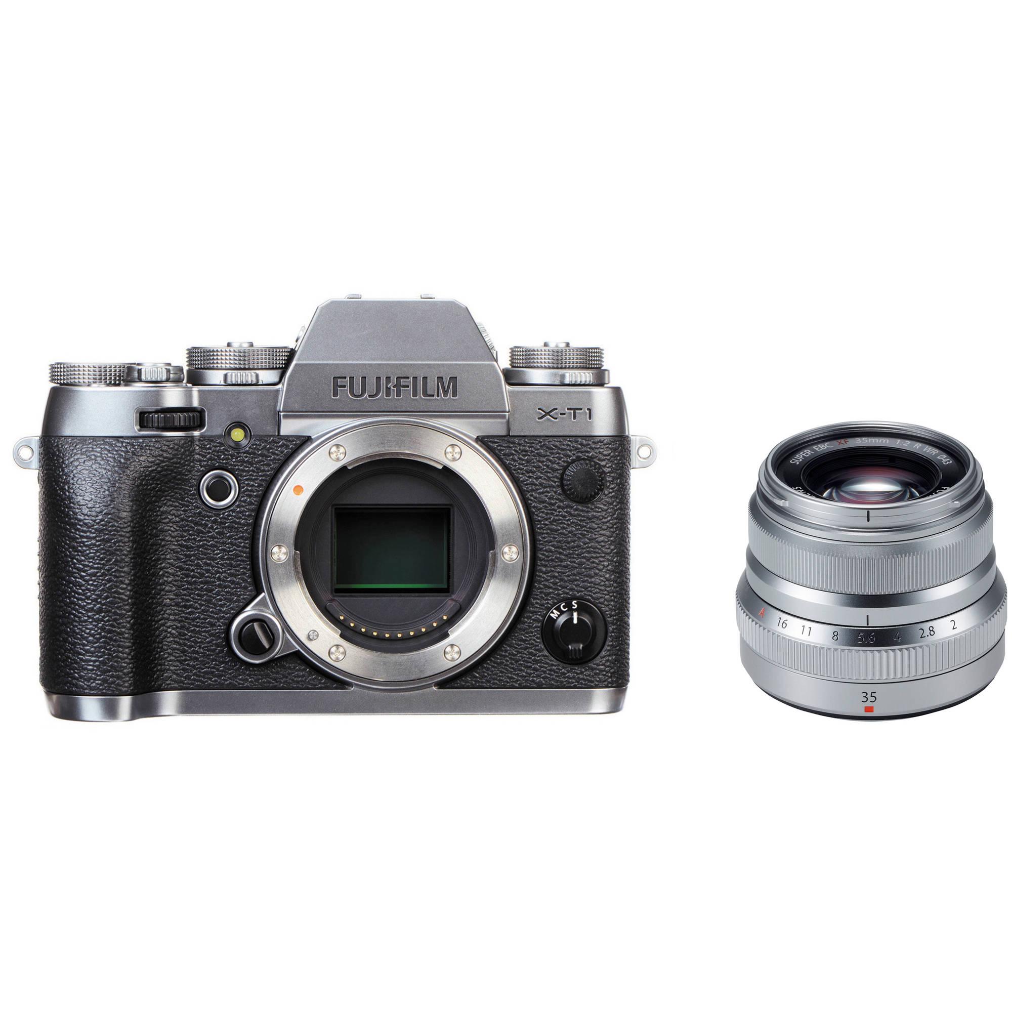 Fujifilm X T1 Mirrorless Digital Camera With 35mm F 2 Lens Kit