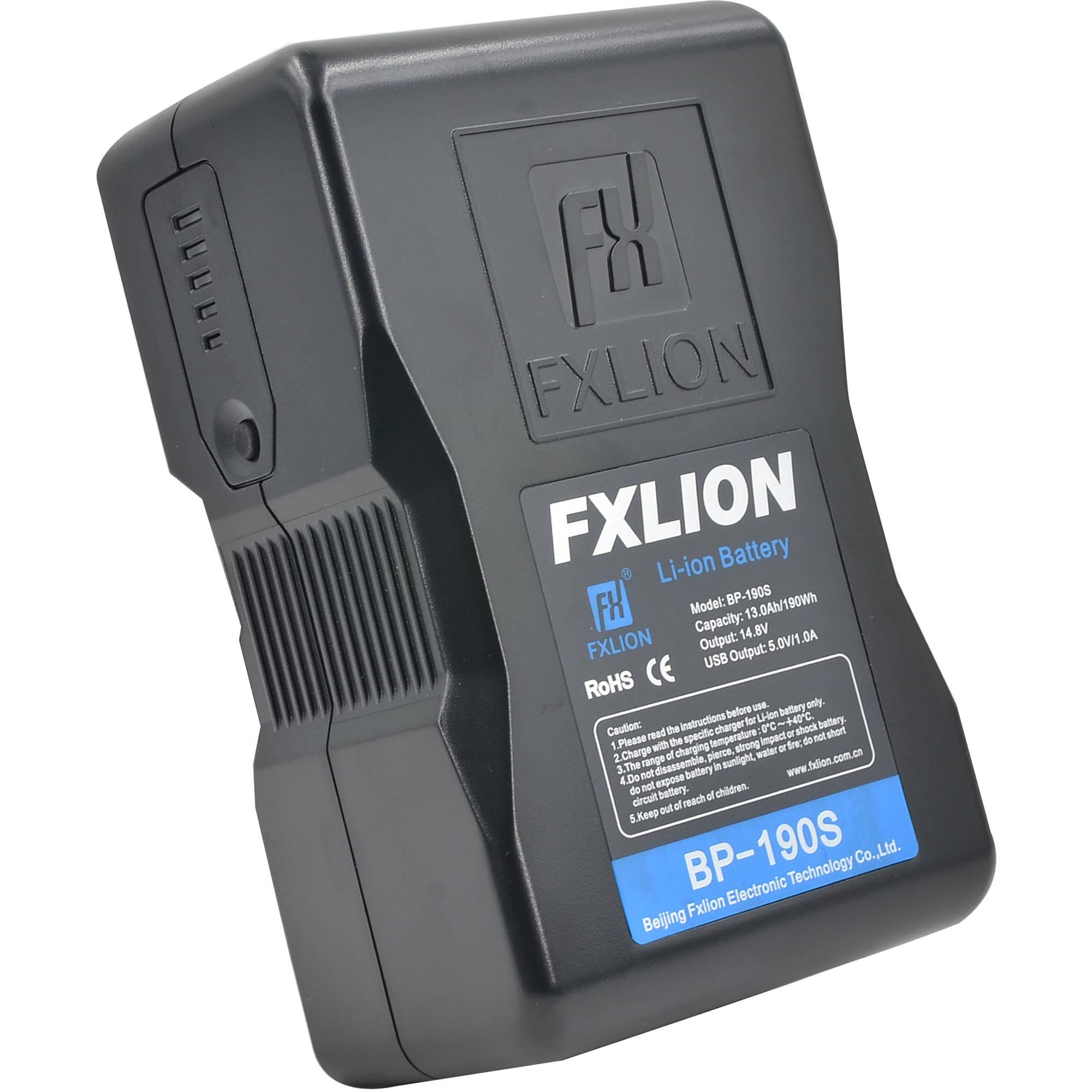 Fxlion Cool Black Series BP 190S 148V Lithium Ion