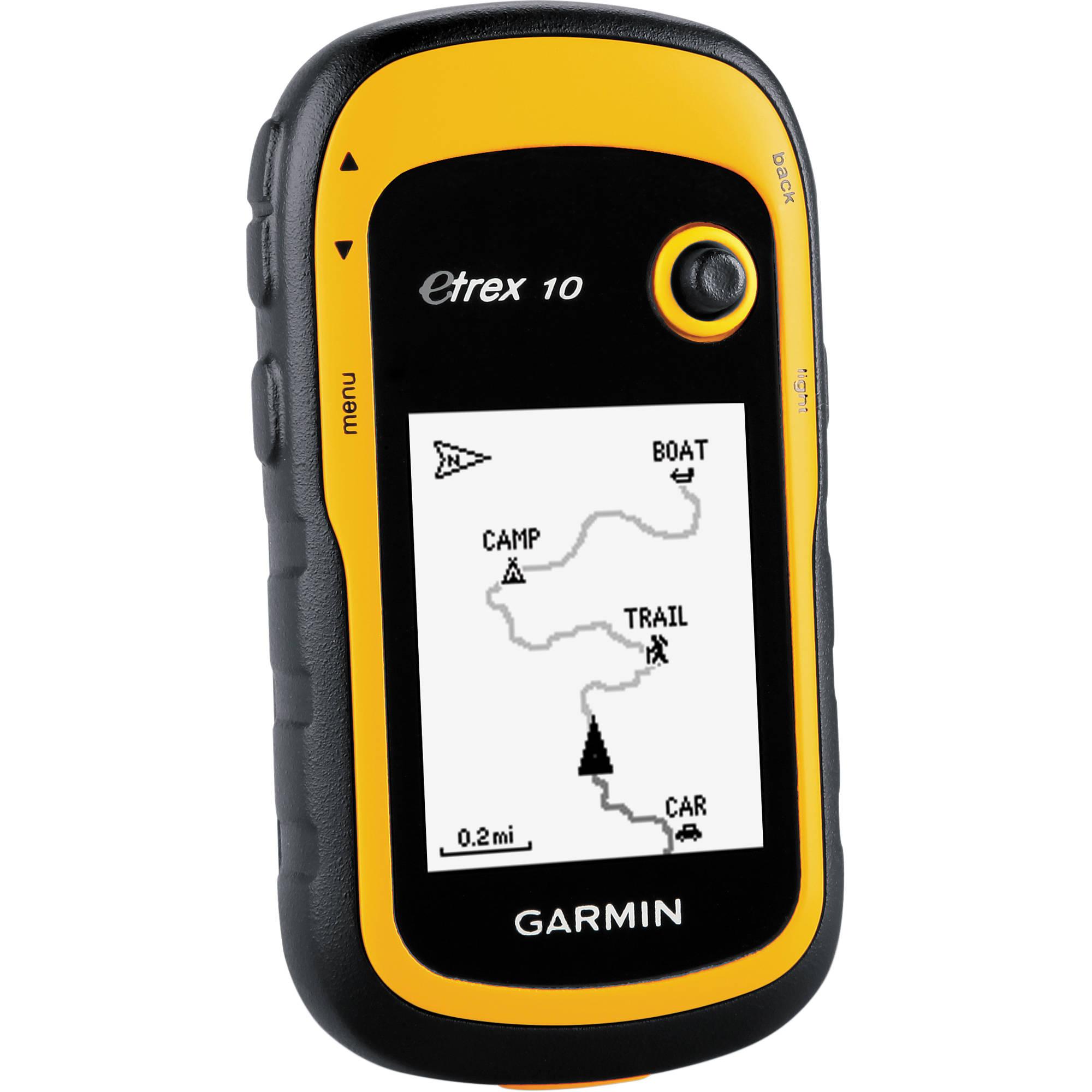 ≡ туристический gps-навигатор garmin etrex 10 (010-00970-01.