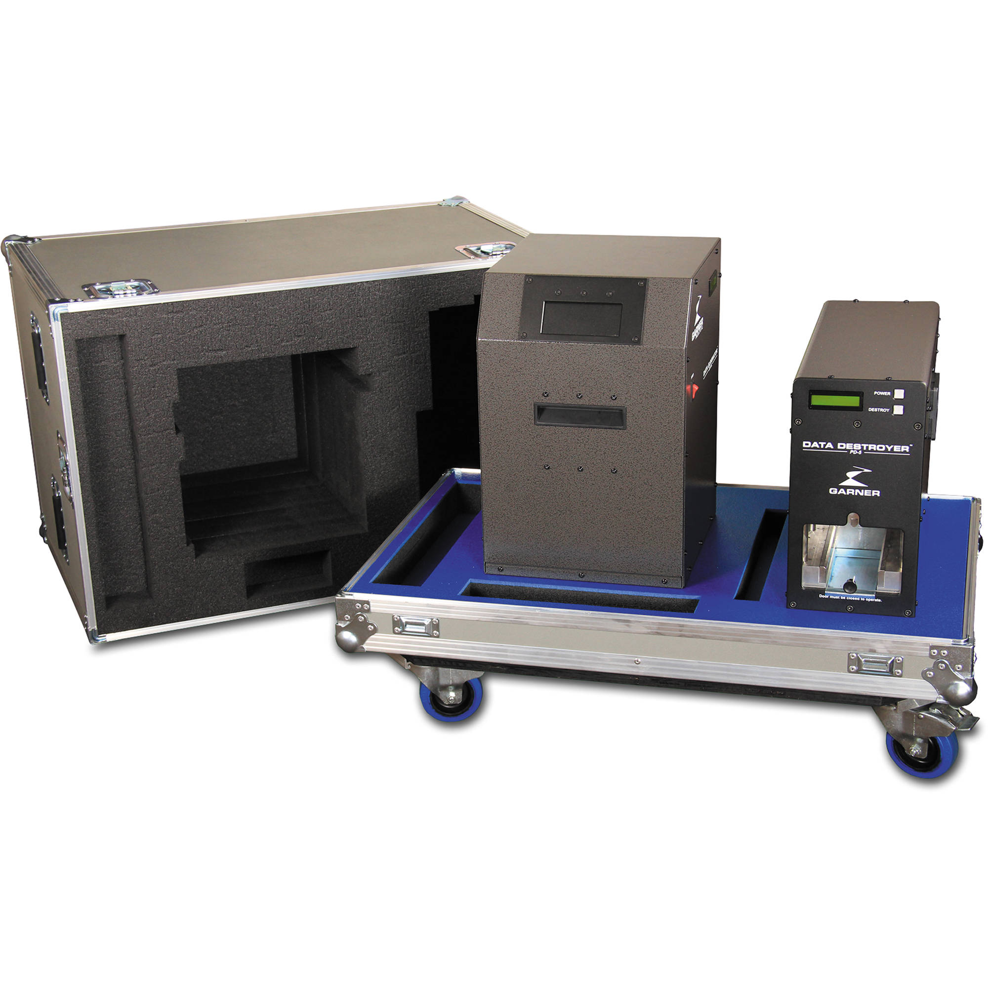 ac3e11ae4c21 Garner PD-5 Multiple Hard Drive Destroyer Package with HD-3WXL Hard Drive  Degausser and Case