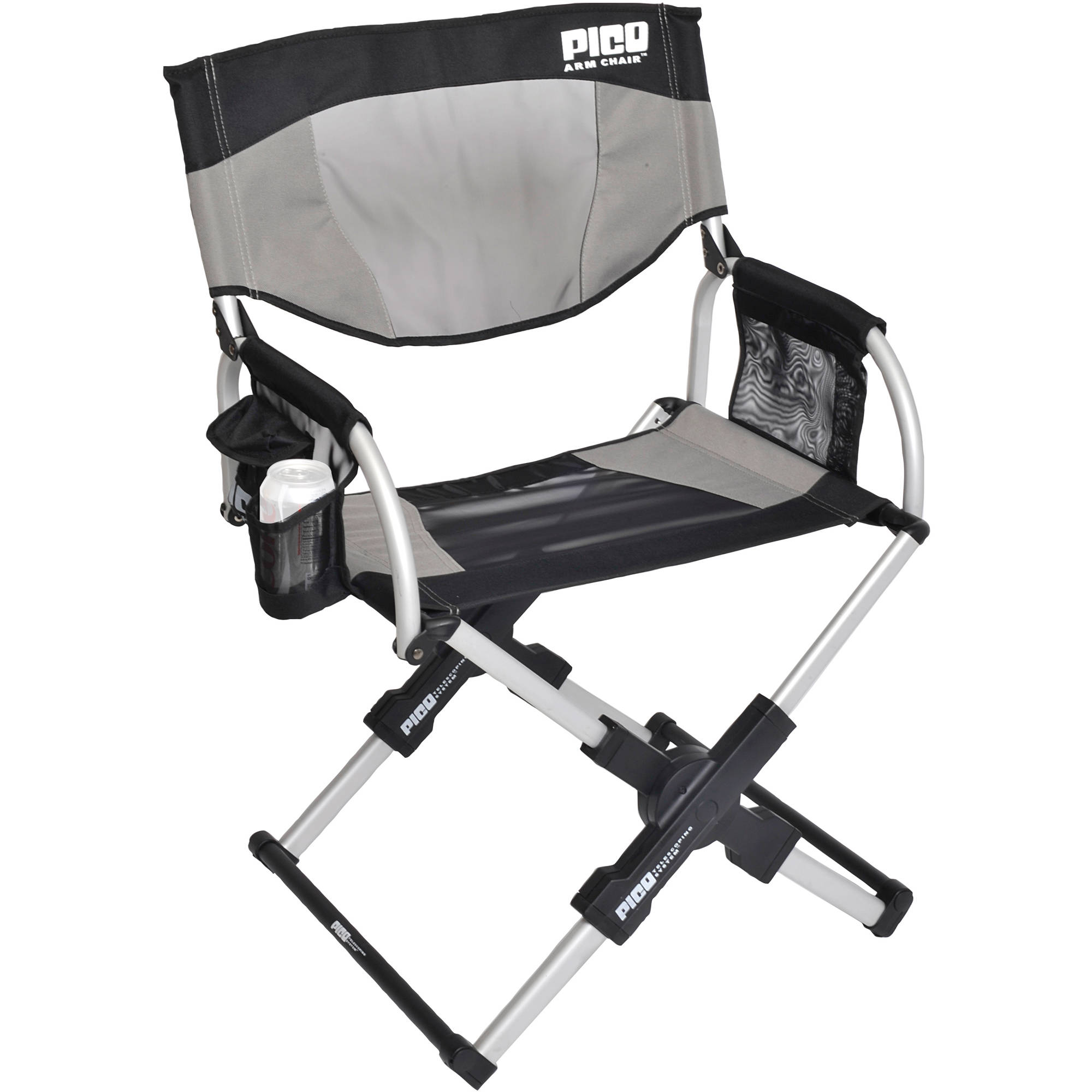 GCI Outdoor PICO Telescoping Arm Director s Chair Sage