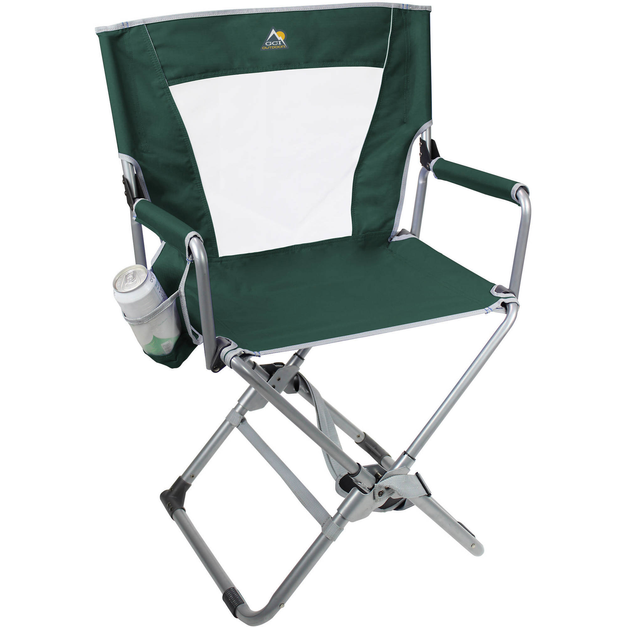 GCI Outdoor Xpress Directoru0027s Chair (Hunter Green)