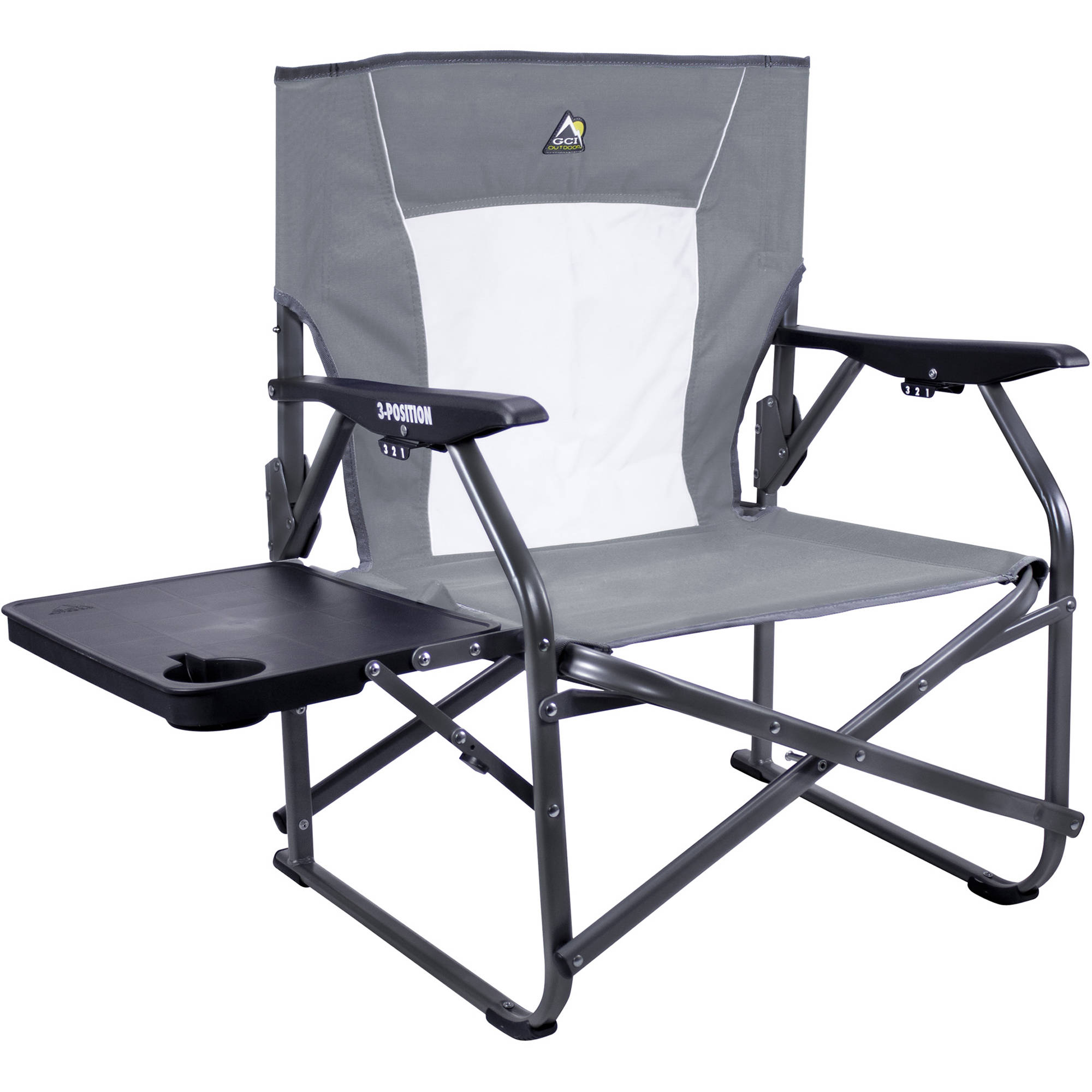 GCI Outdoor 3 Position Event Chair Mercury Gray B&H
