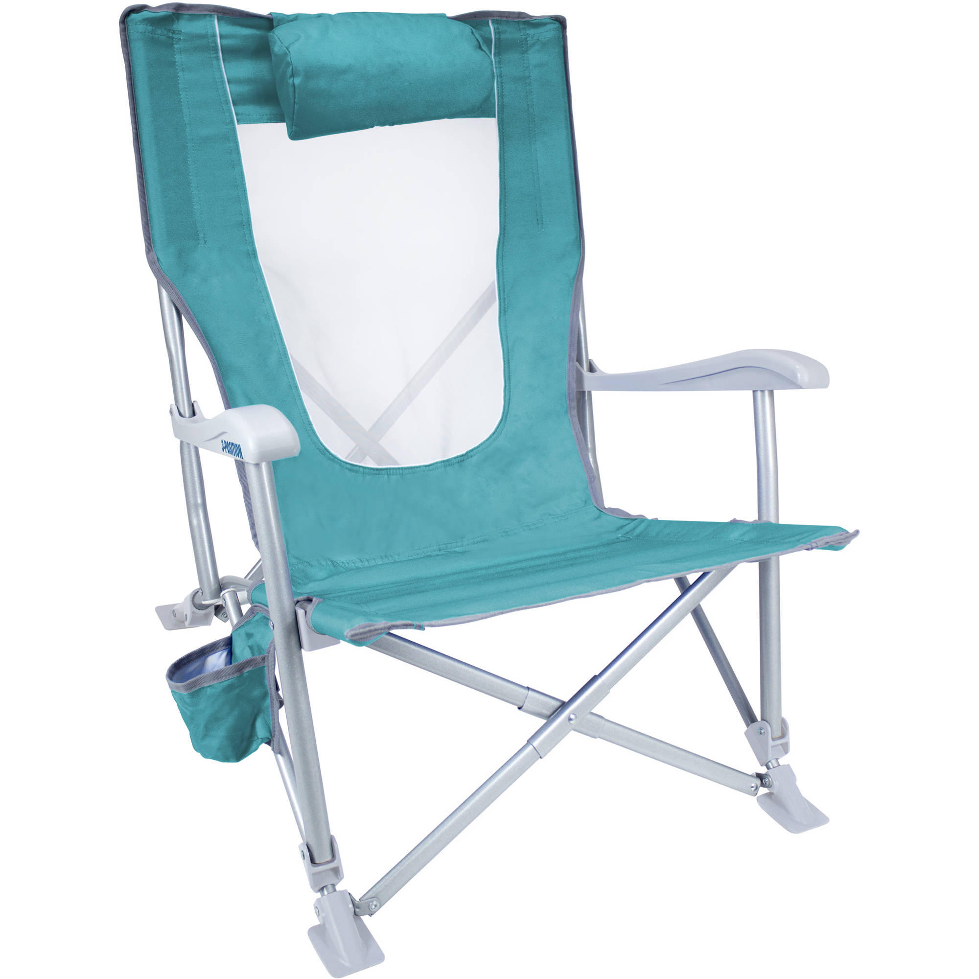 GCI Outdoor Sun Recliner Beach Chair Seafoam Green B&H