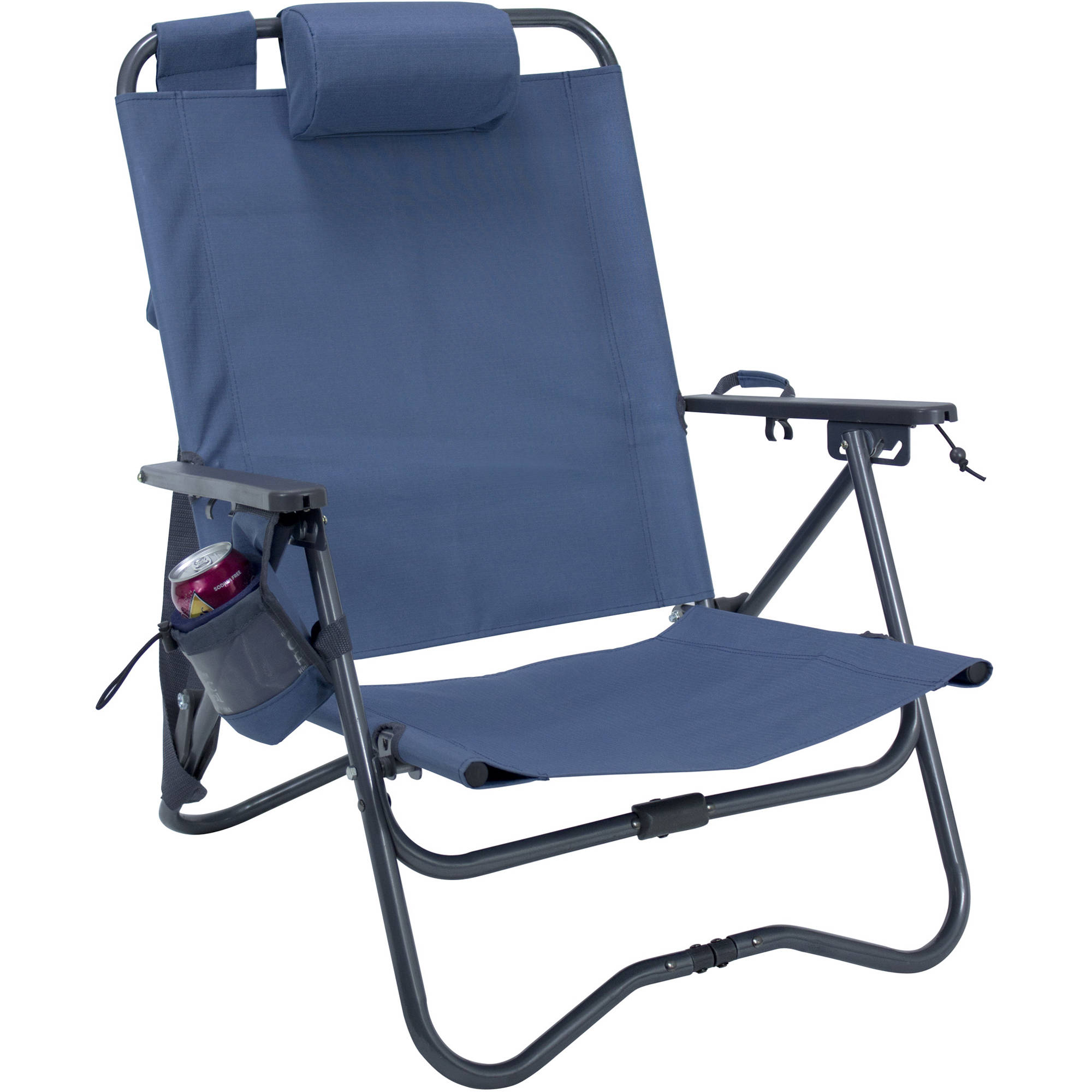 GCI Outdoor Bi Fold Camp Chair Stellar Blue B&H