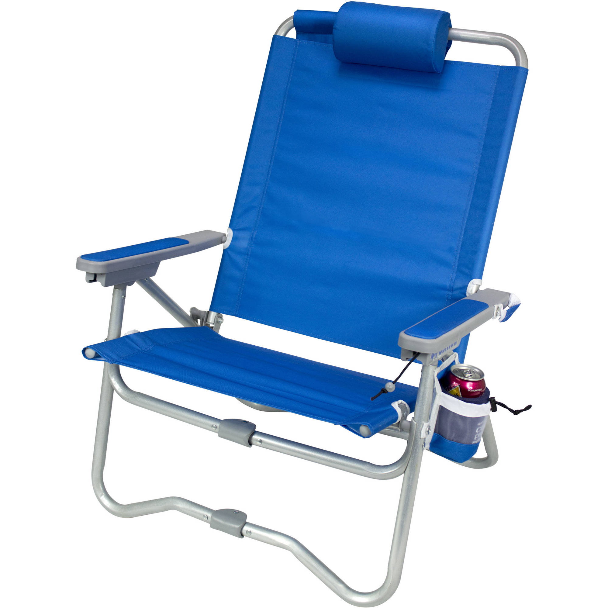 GCI Outdoor Bi Fold Beach Chair Saybrook Blue B&H
