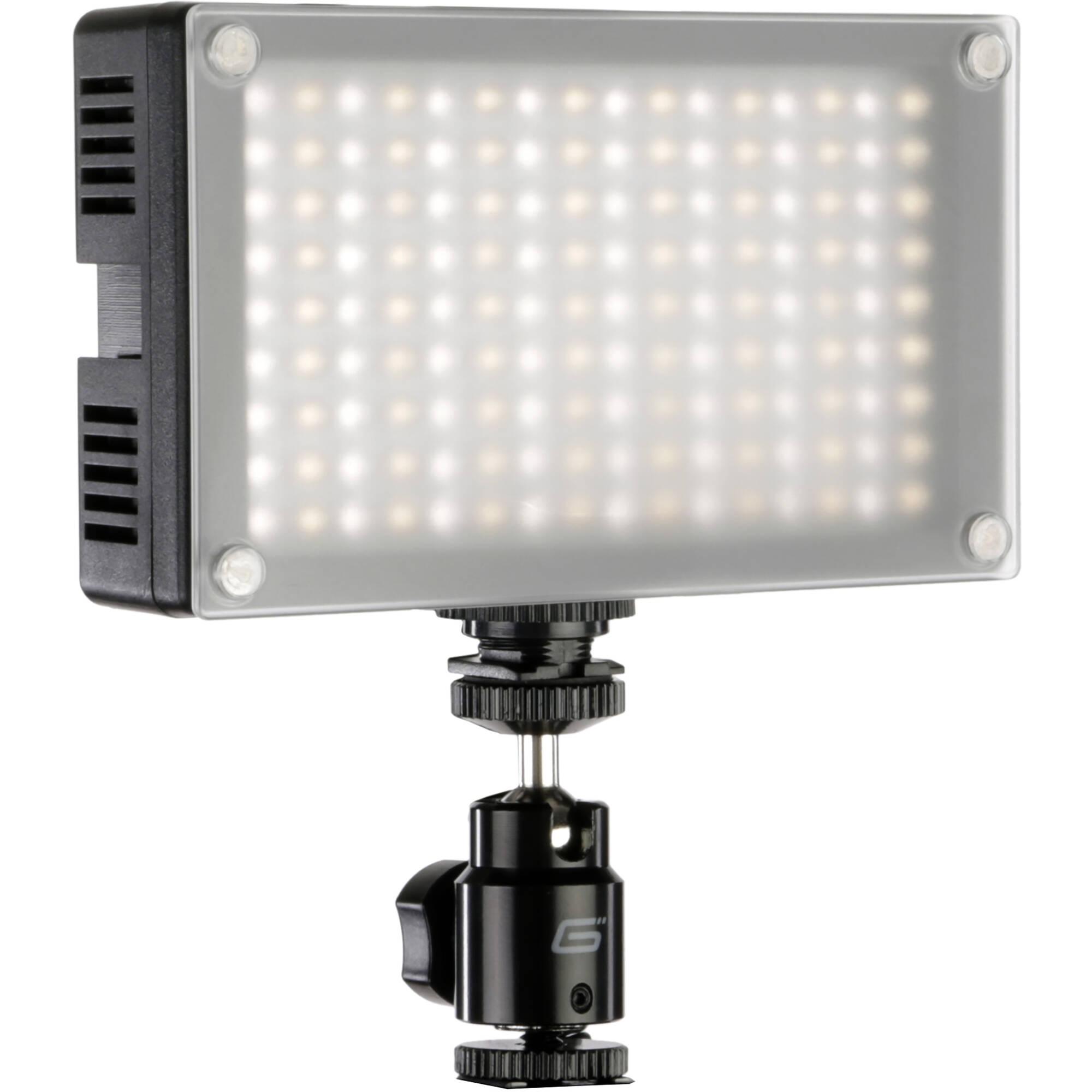 Genaray LED-6200T 144 LED Variable-Color On-Camera LED ...