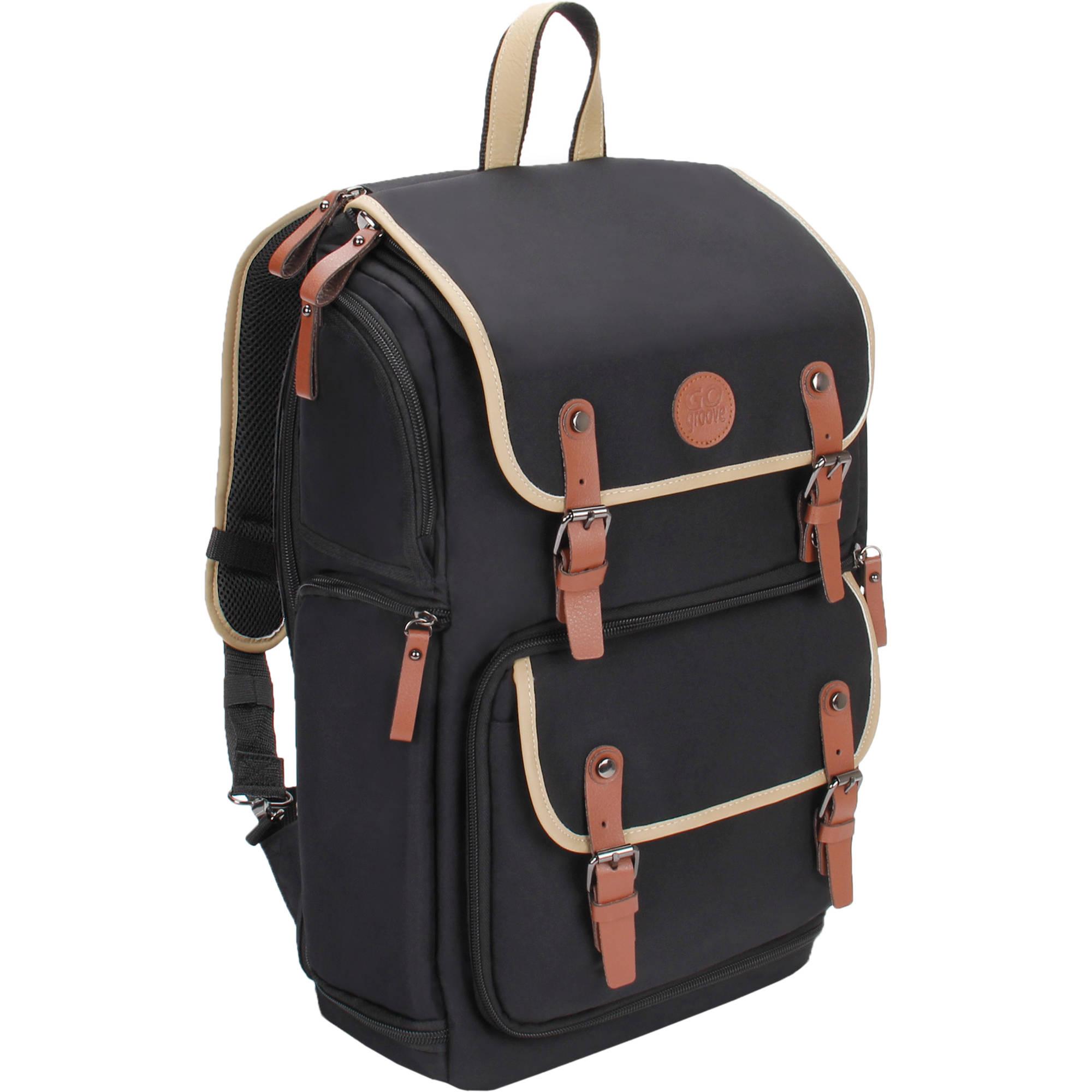 Best Dslr Backpack 2020 GOgroove DSLR Camera Backpack (Green) GGBCCBK100GNEW B&H Photo