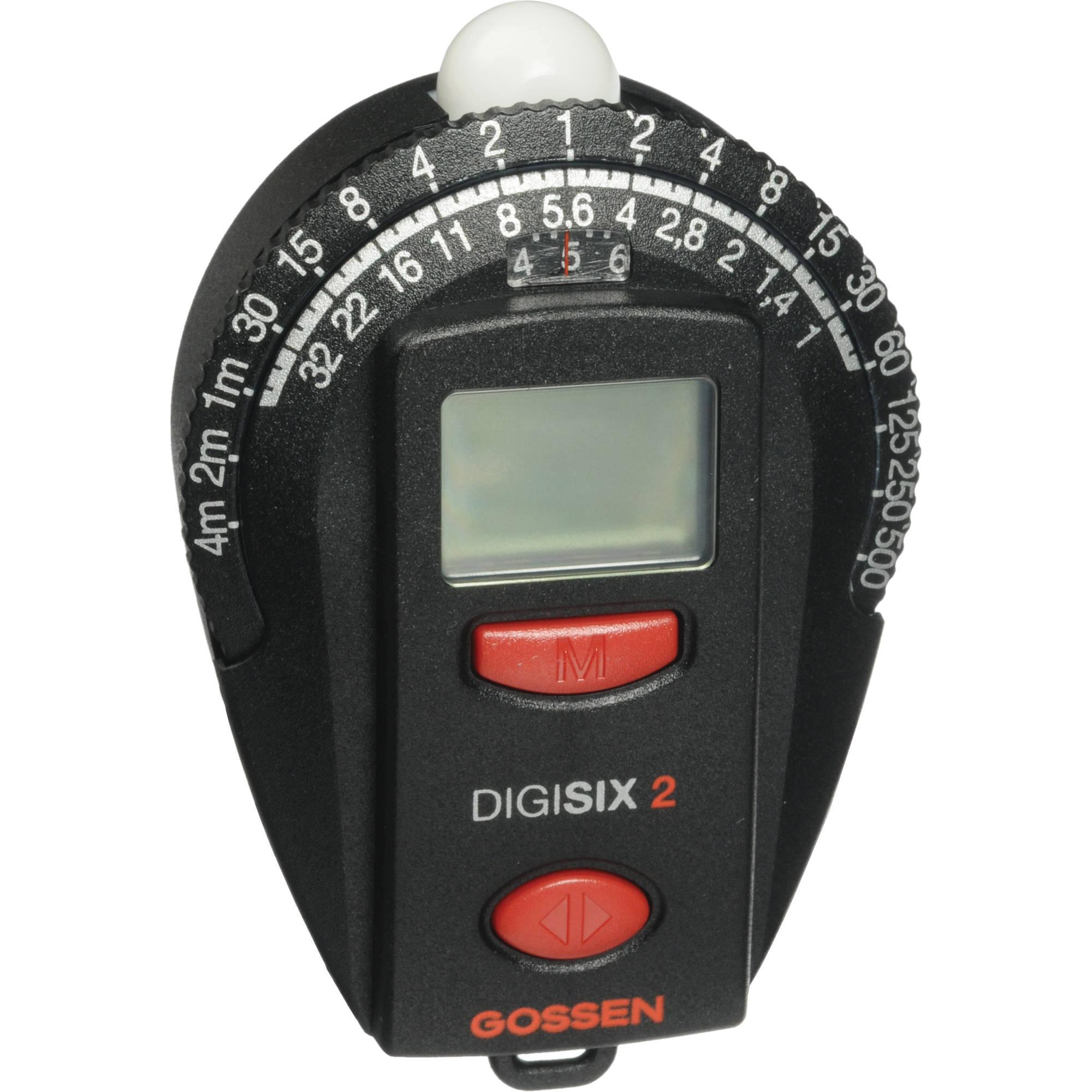 Gossen Digisix 2 Light Meter GO 4006-2 B&H Photo Video