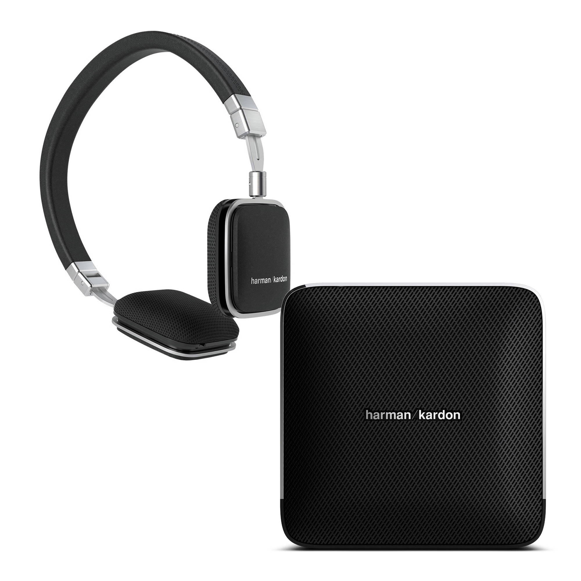 harman kardon esquire wireless speaker and soho ios headphones. Black Bedroom Furniture Sets. Home Design Ideas