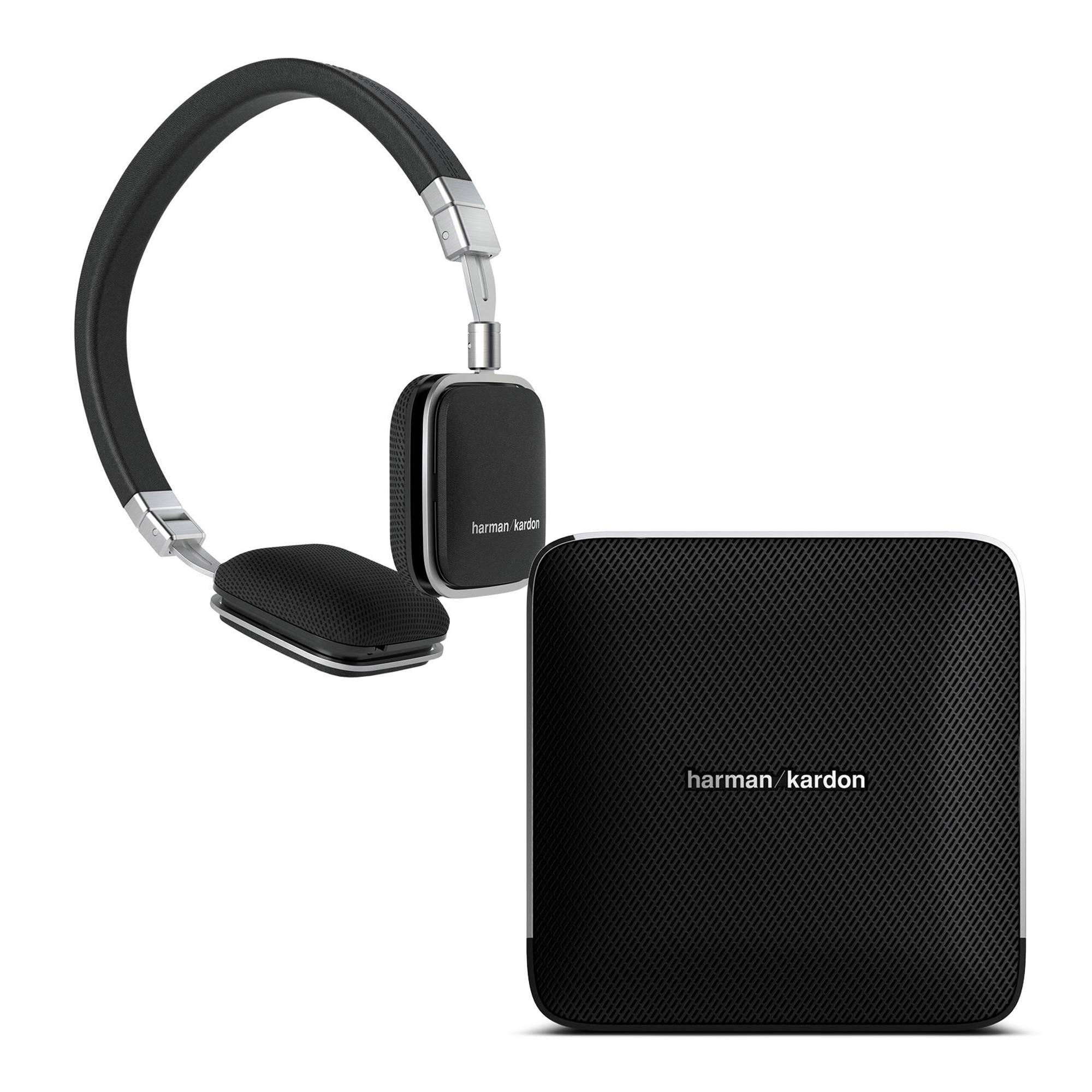 d633325471c Harman Kardon Esquire Wireless Speaker and Soho Android Headphones Kit ( Black, Black)