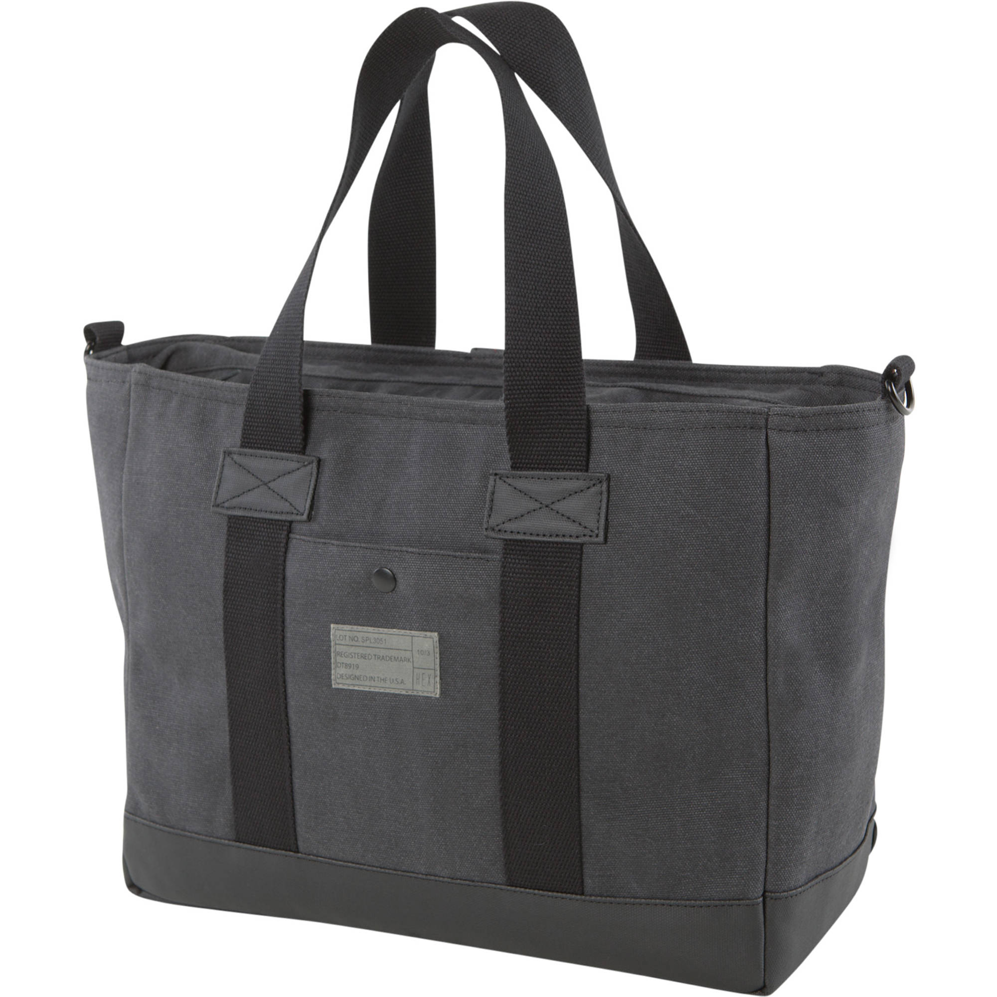 Hex Supply Laptop Work Bag Charcoal
