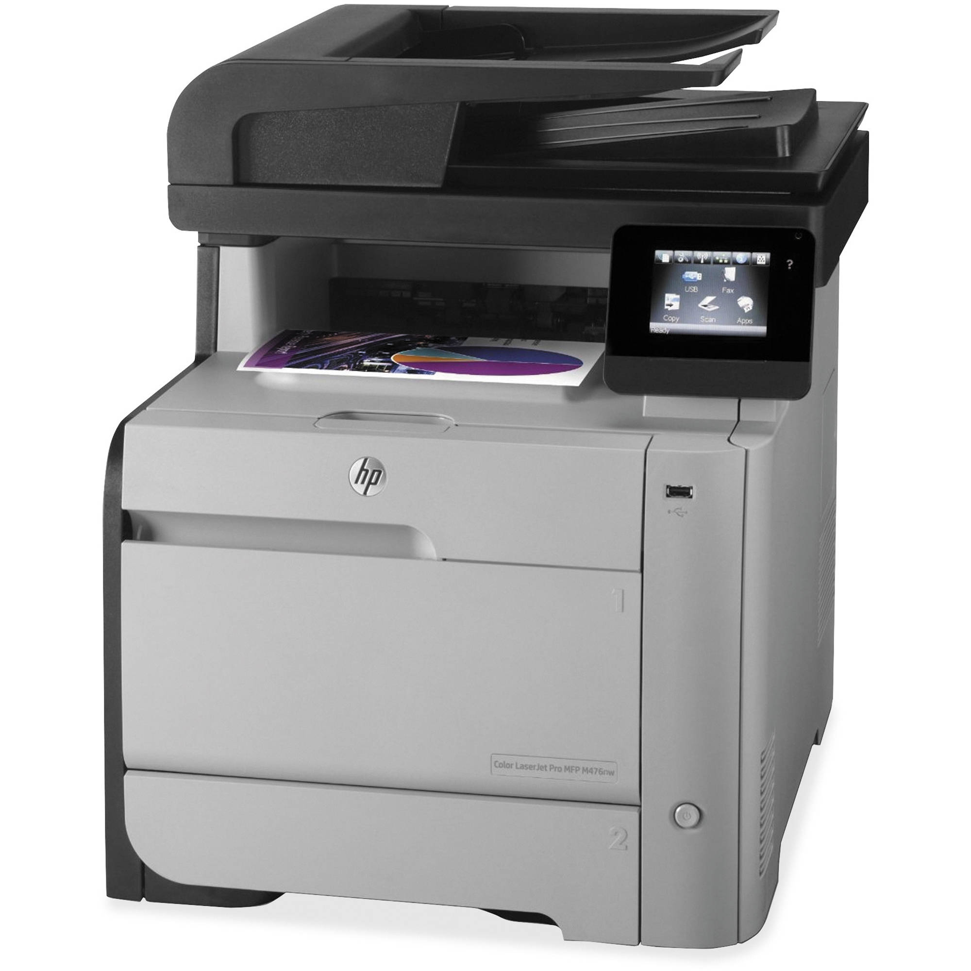 HP M476nw LaserJet Pro All In One Color Laser Printer