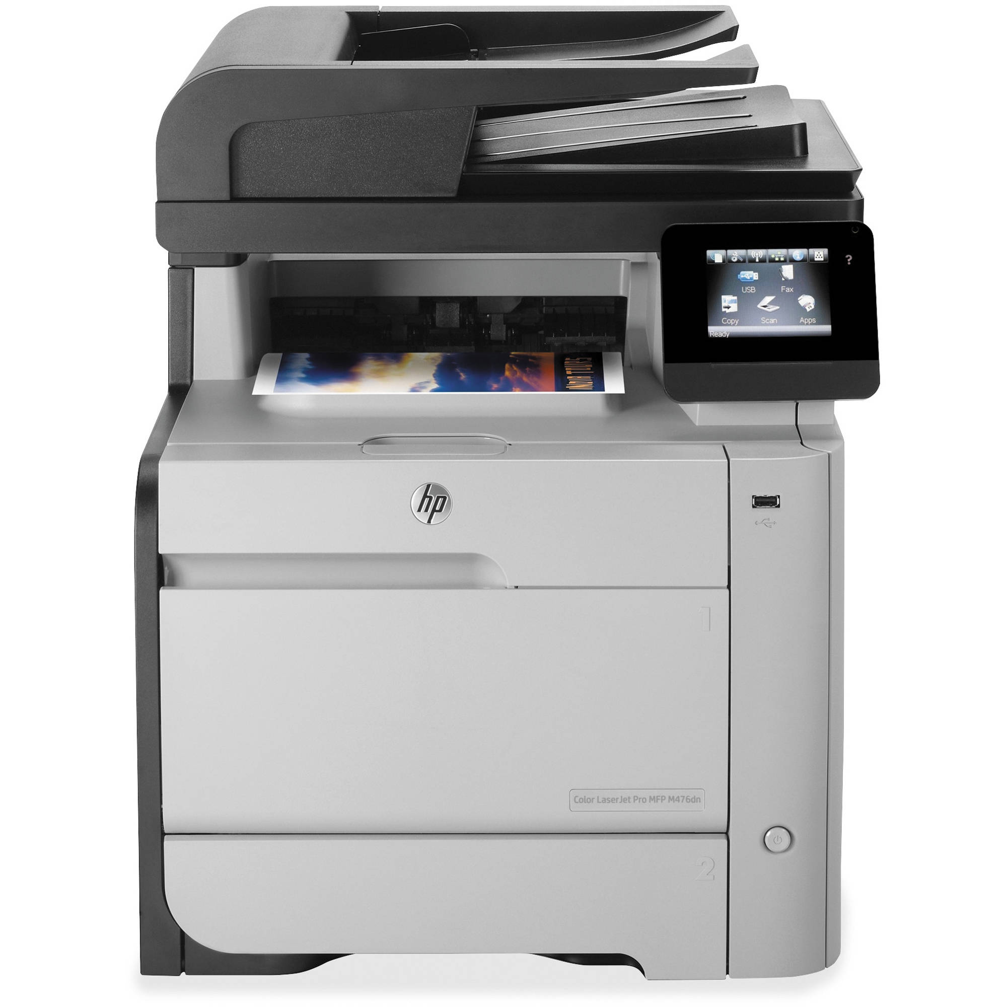 Hp m476dn laserjet pro all in one color laser printer