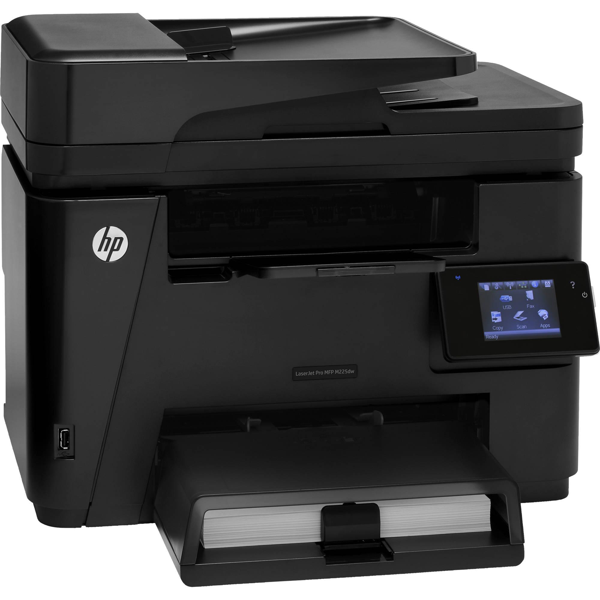 HP M225dw LaserJet Pro All-in-One Laser Printer CF485A B&H ...
