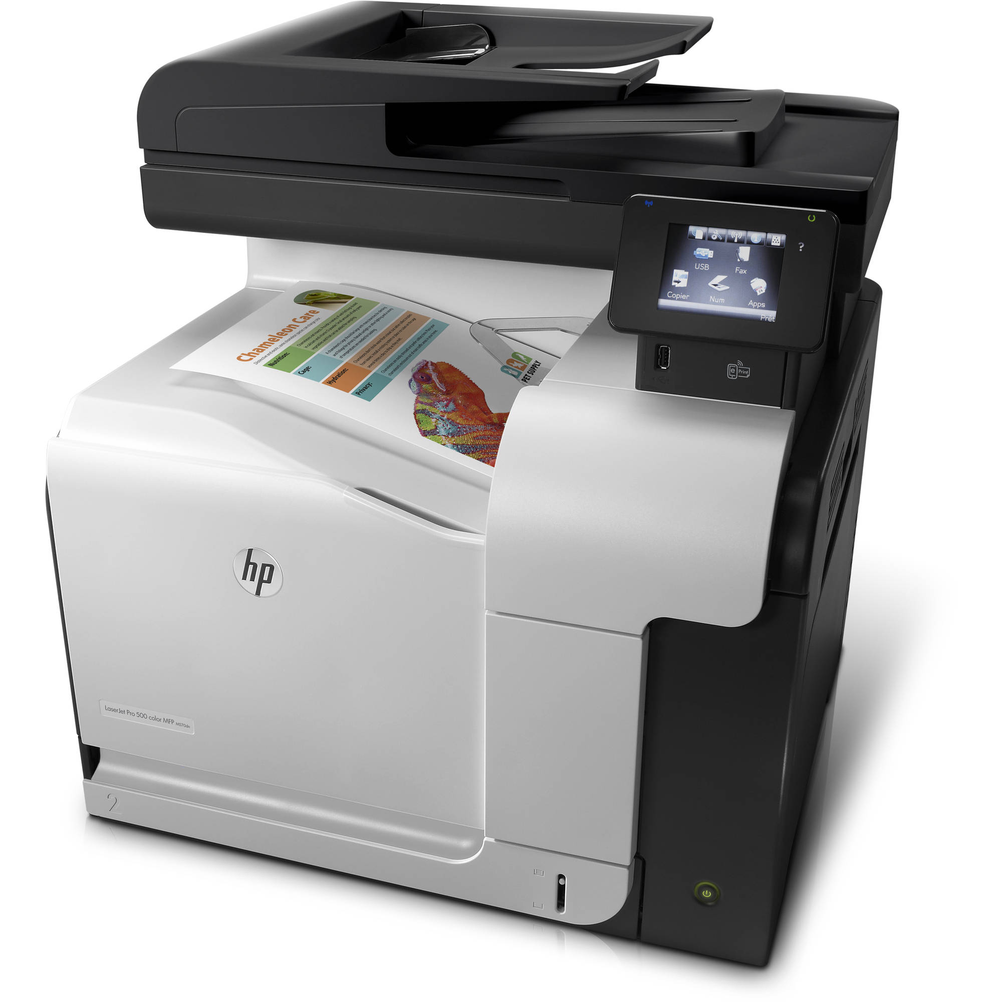 Hp Color Laser Printer All In One