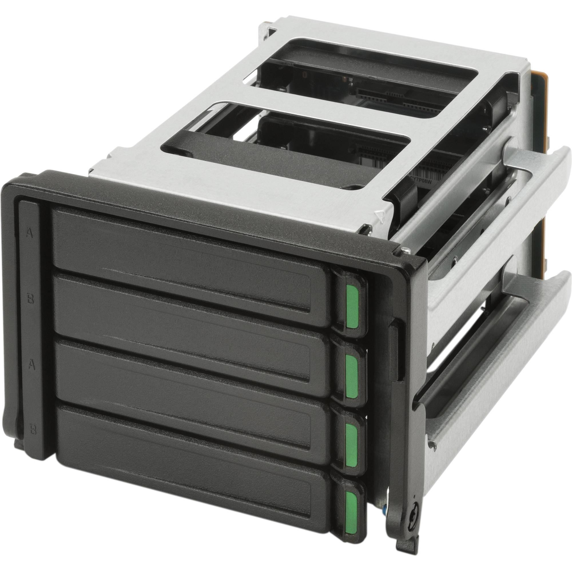 Hp high density 4 bay storage kit k5j28aa b h photo video for Storage bay